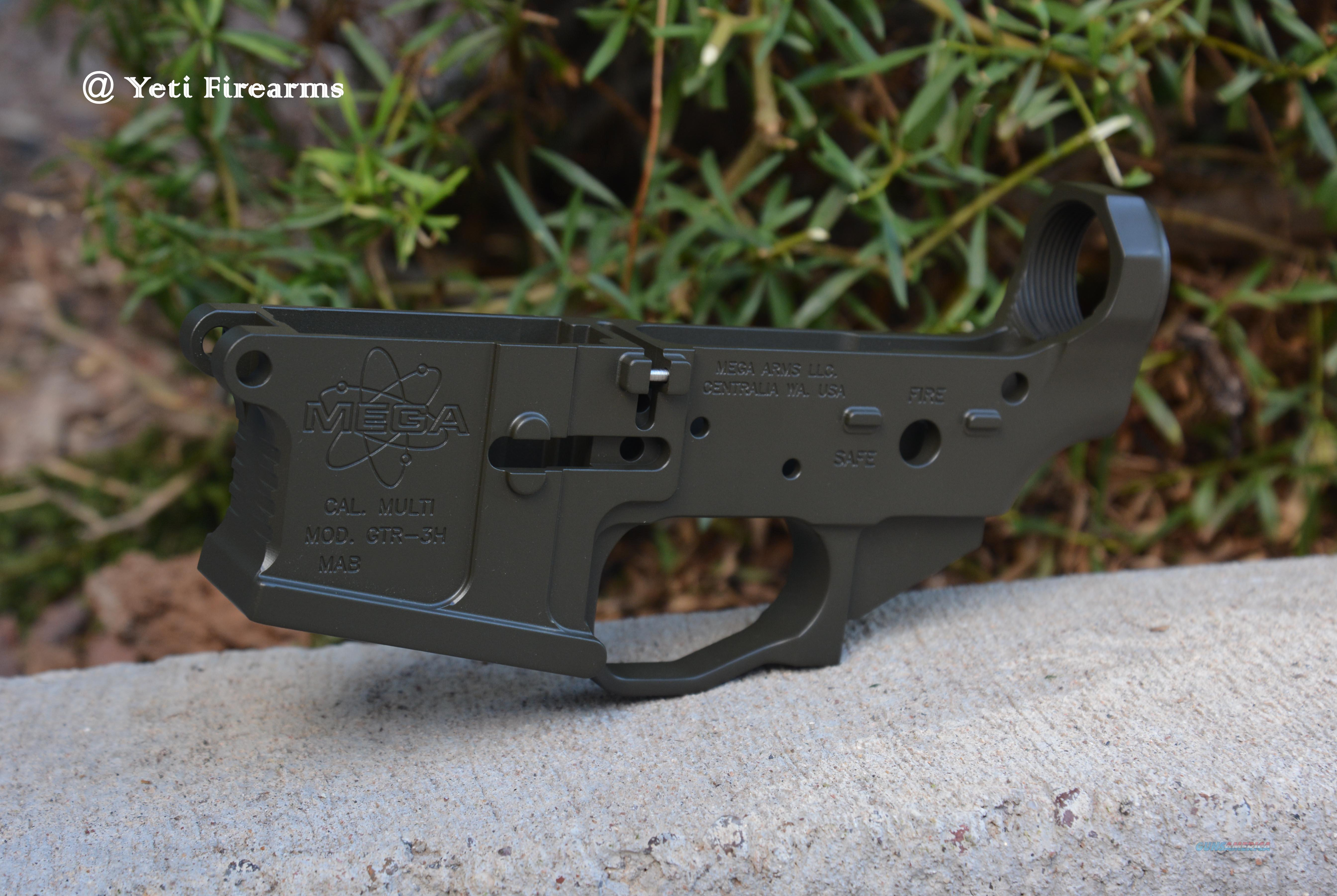 X-Werks Mega Arms GTR-3H Ambi Lower Magpul OD AR  Guns > Rifles > AR-15 Rifles - Small Manufacturers > Lower Only