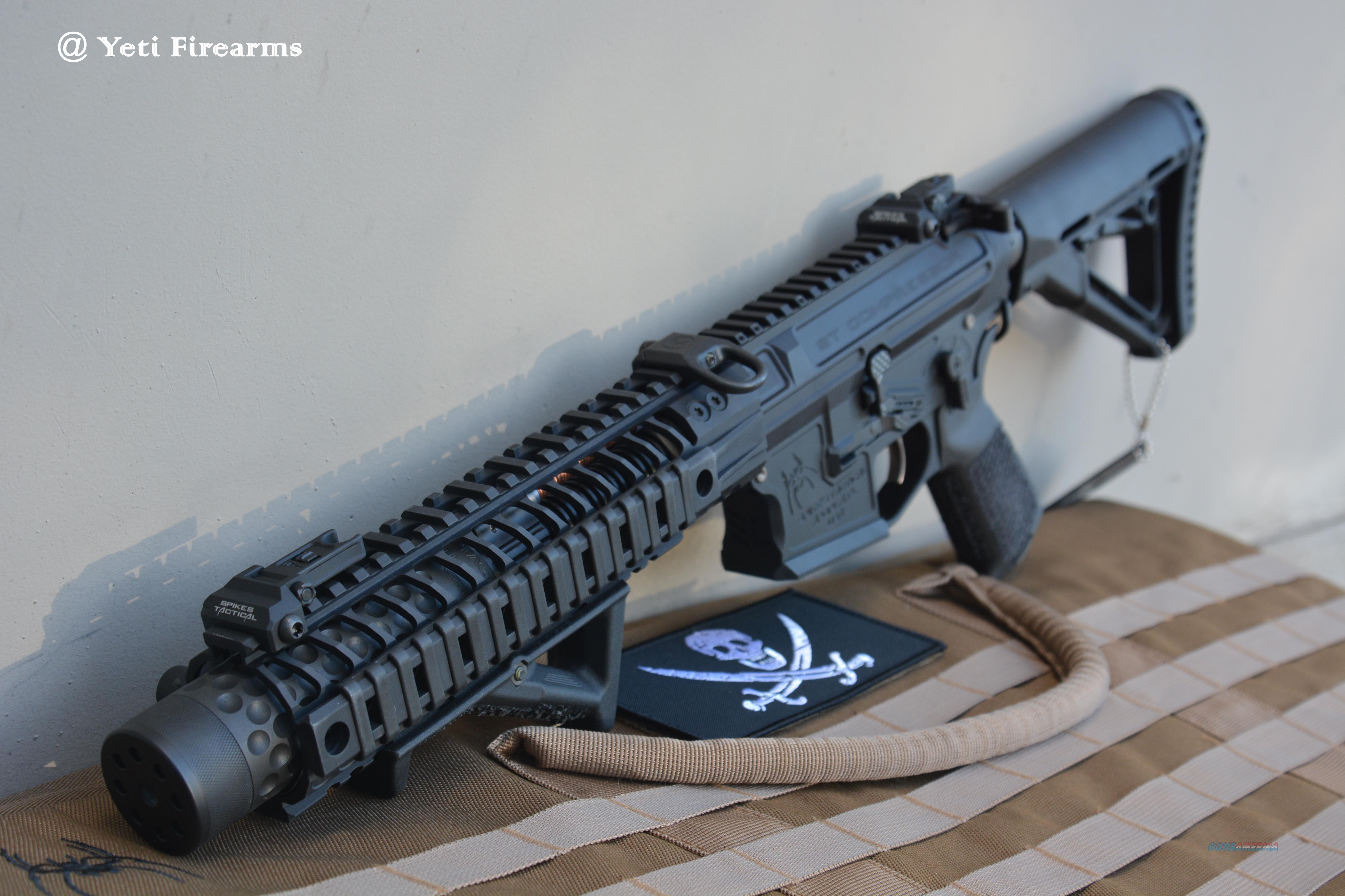 "Spikes Tactical Compressor AR-15 5.56mm NFA 8.1""  Guns > Rifles > Class 3 Rifles > Class 3 Subguns"
