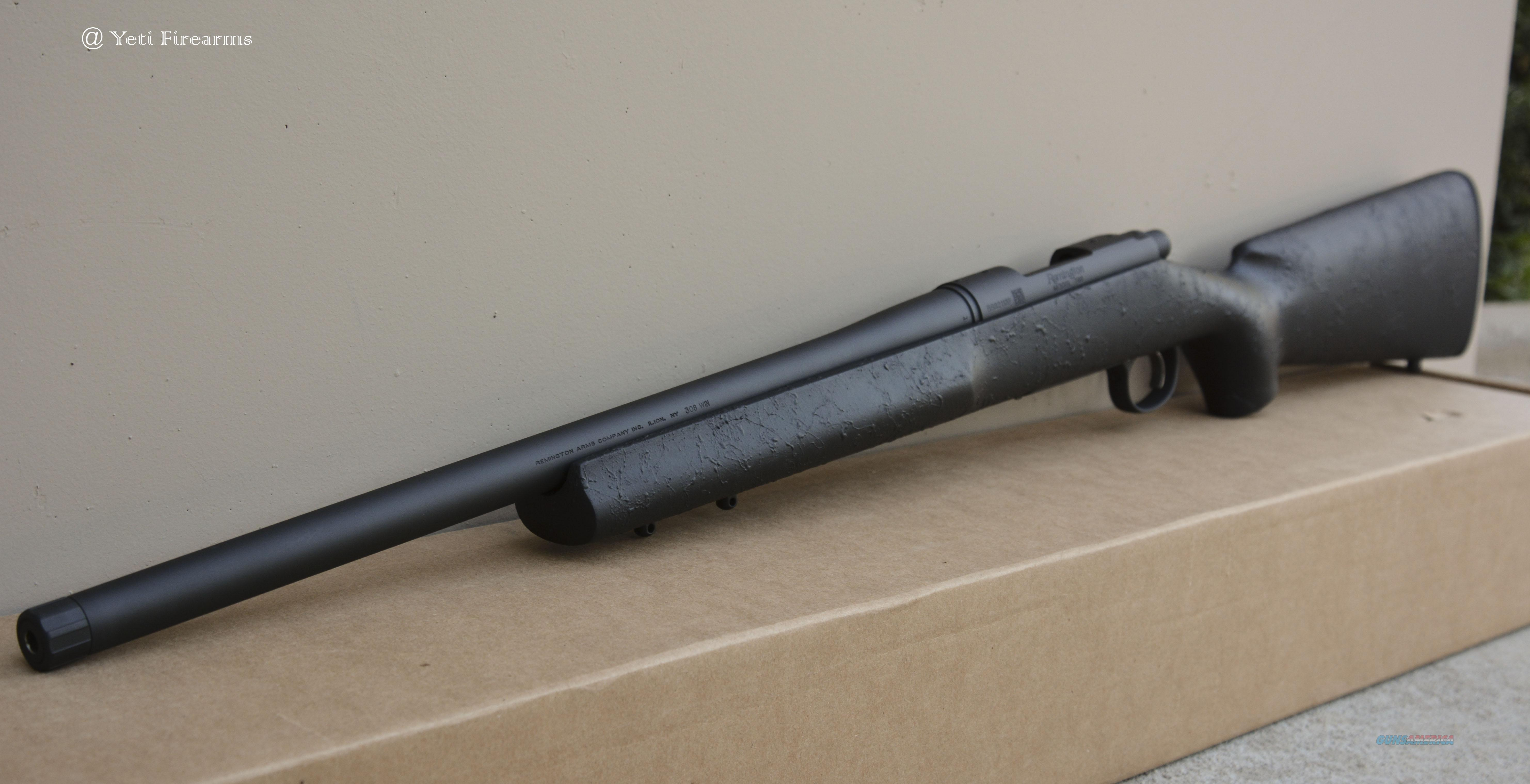 "X-Werks Remington 700 5R 20"" Threaded All Black 85200  Guns > Rifles > Remington Rifles - Modern > Model 700 > Tactical"