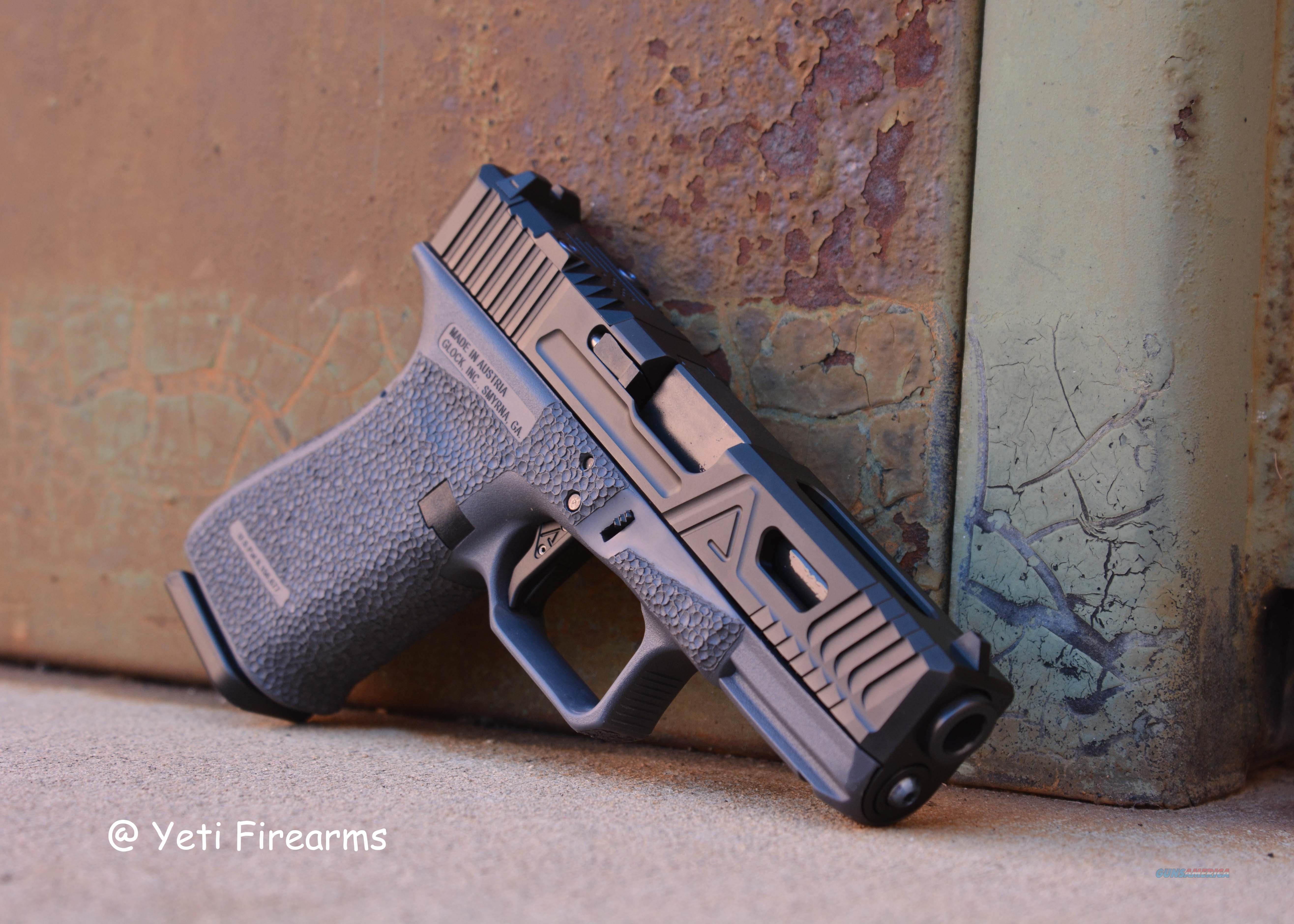 Agency Arms Glock 19 G4 Urban EDC Gray Frame 9mm  Guns > Pistols > Glock Pistols > 19/19X