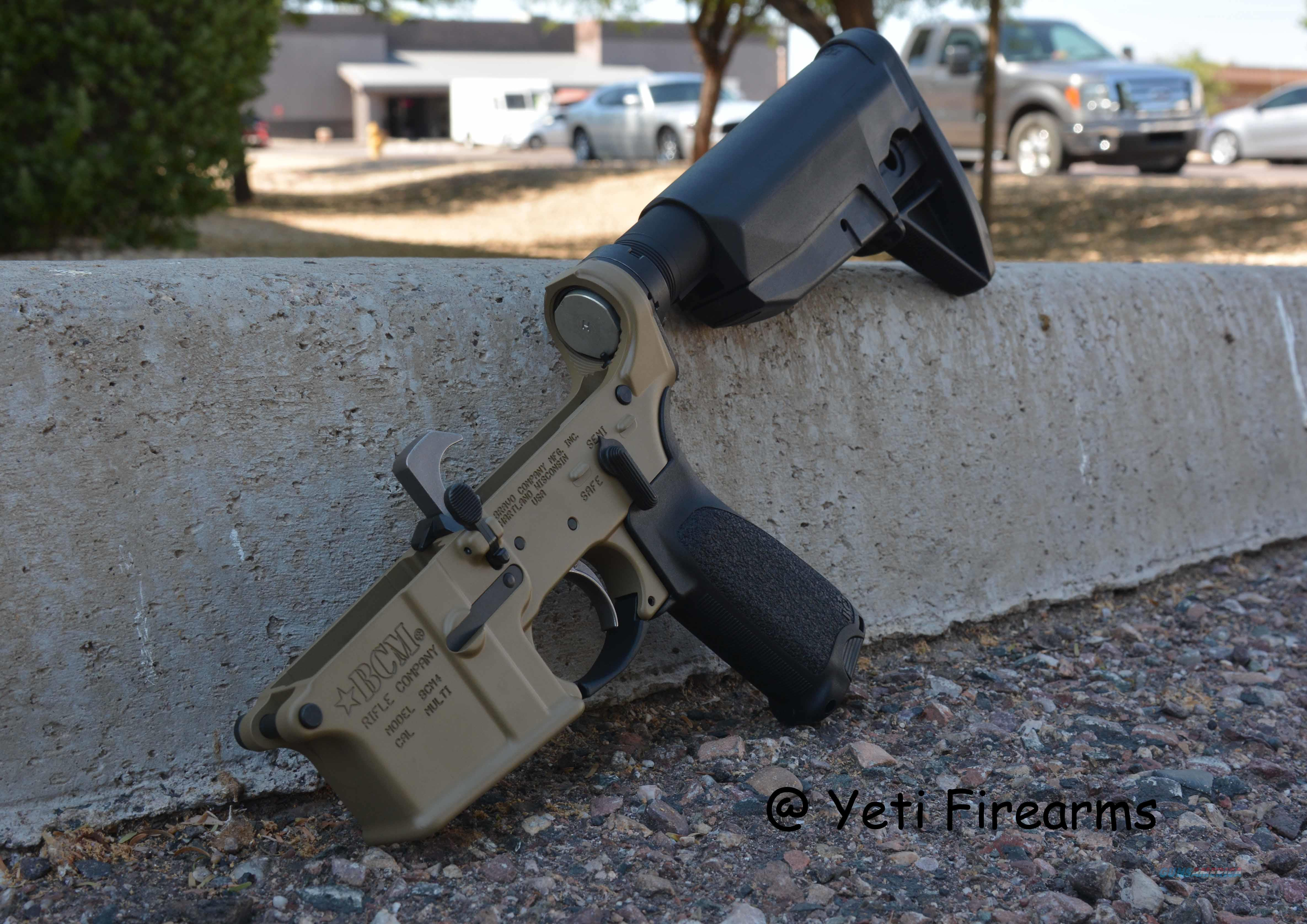 X-Werks BCM Complete BCM4 AR-15 Lower Blem CT 5.56  Guns > Rifles > AR-15 Rifles - Small Manufacturers > Lower Only