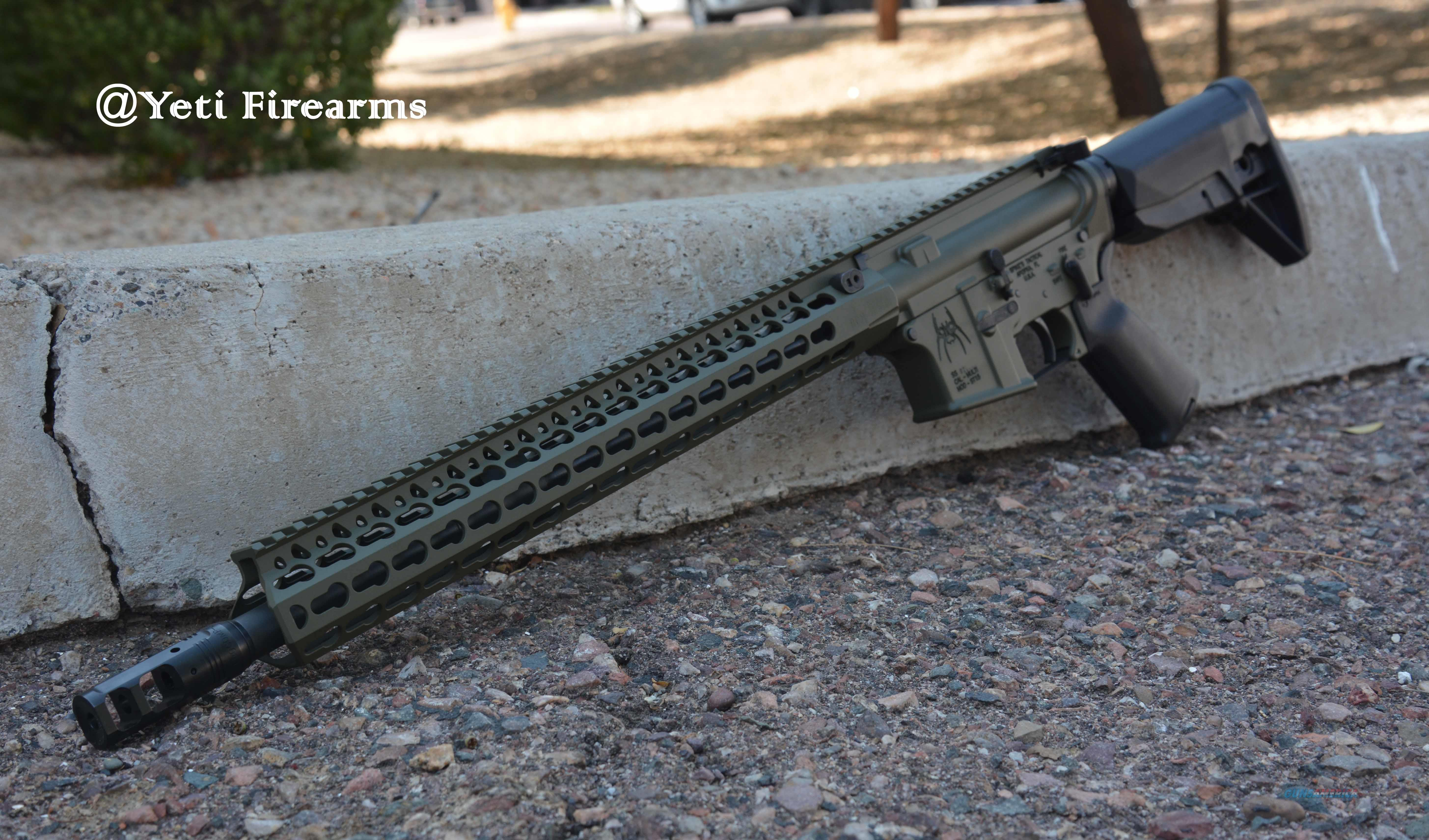 Spikes Custom AR-15 X-Werks Olive Drab BCM 5.56 Spikes Tactical Bravo Company Surefire FailZero  Guns > Rifles > AR-15 Rifles - Small Manufacturers > Complete Rifle