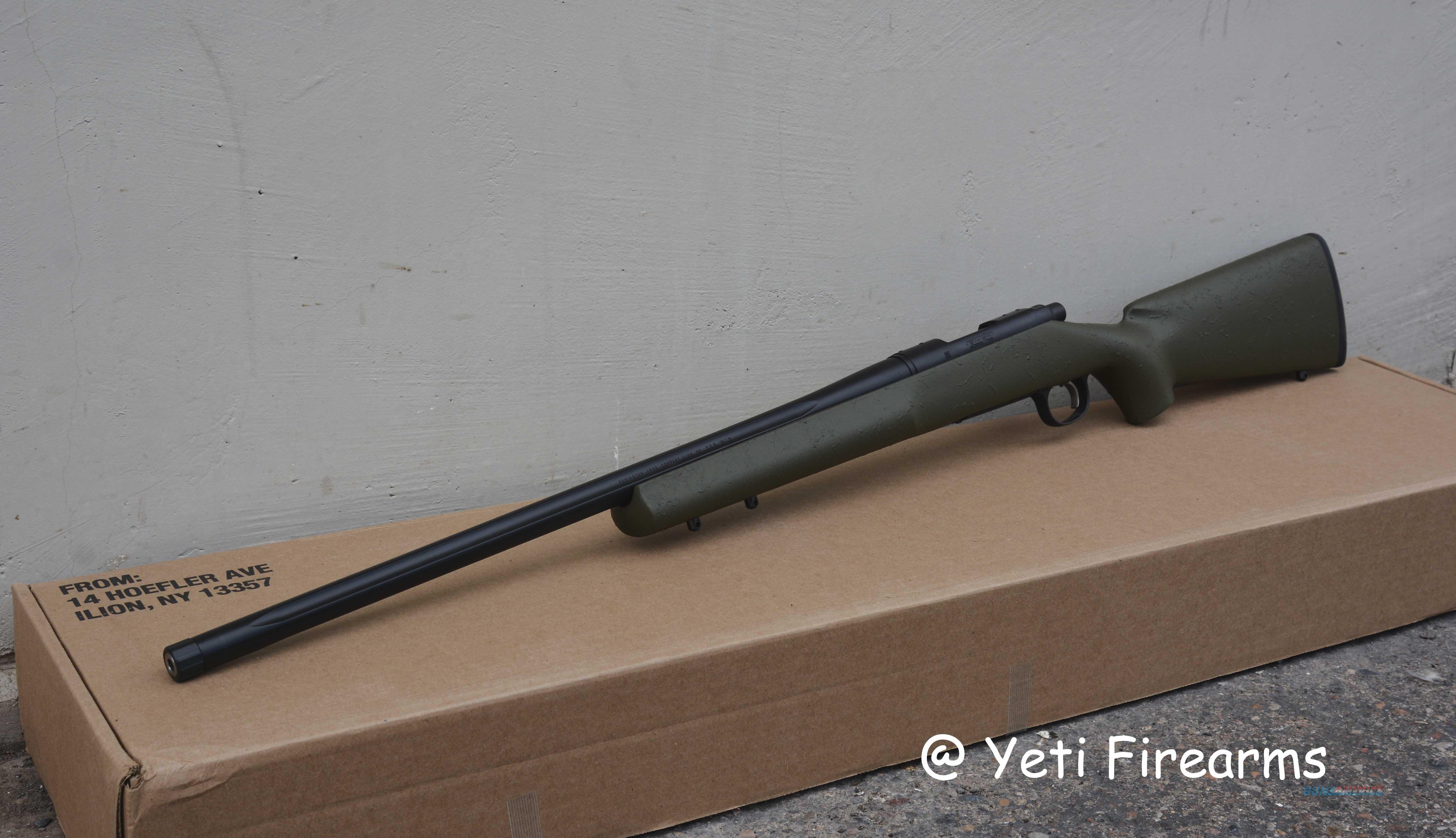 "Remington 700 5R 24"" .308 #85201 Olive Drab HS TB  Guns > Rifles > Remington Rifles - Modern > Model 700 > Tactical"