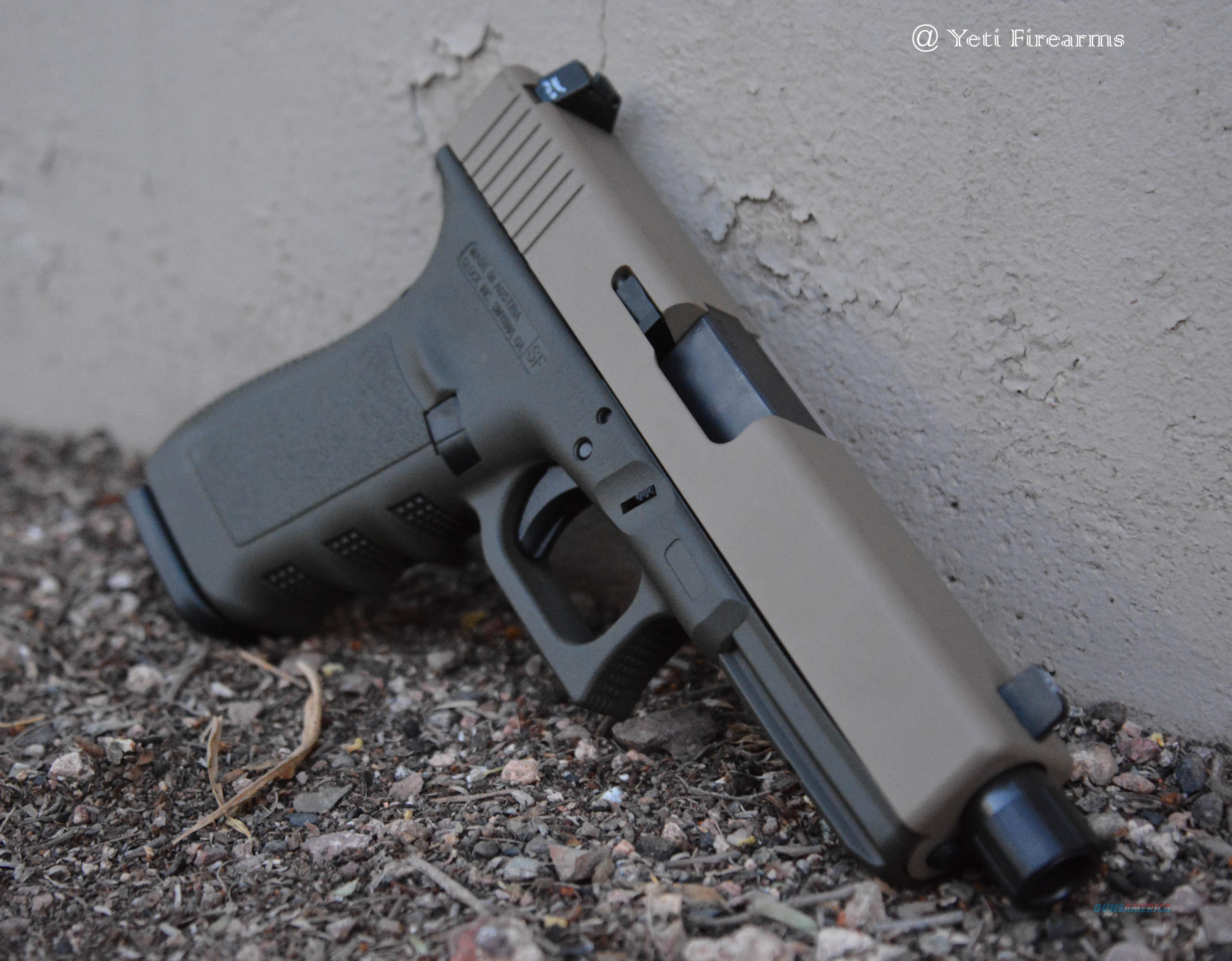 X-Werks Glock 21 SF Threaded Barrel Magpul FDE OD NS M16x1LH  Guns > Pistols > Glock Pistols > 20/21