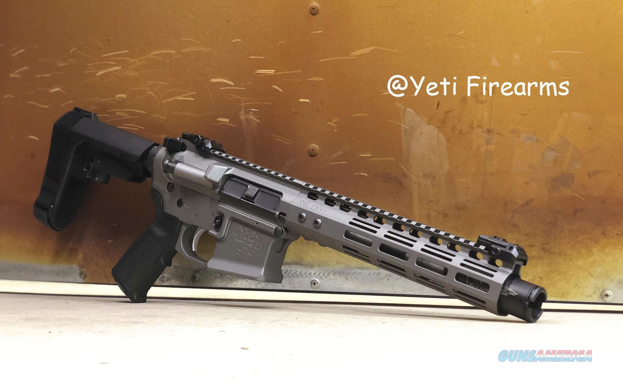 Noveske Gen 3 Diplomat Pistol 5.56mm Tungsten MLOK  Guns > Pistols > MN Misc Pistols