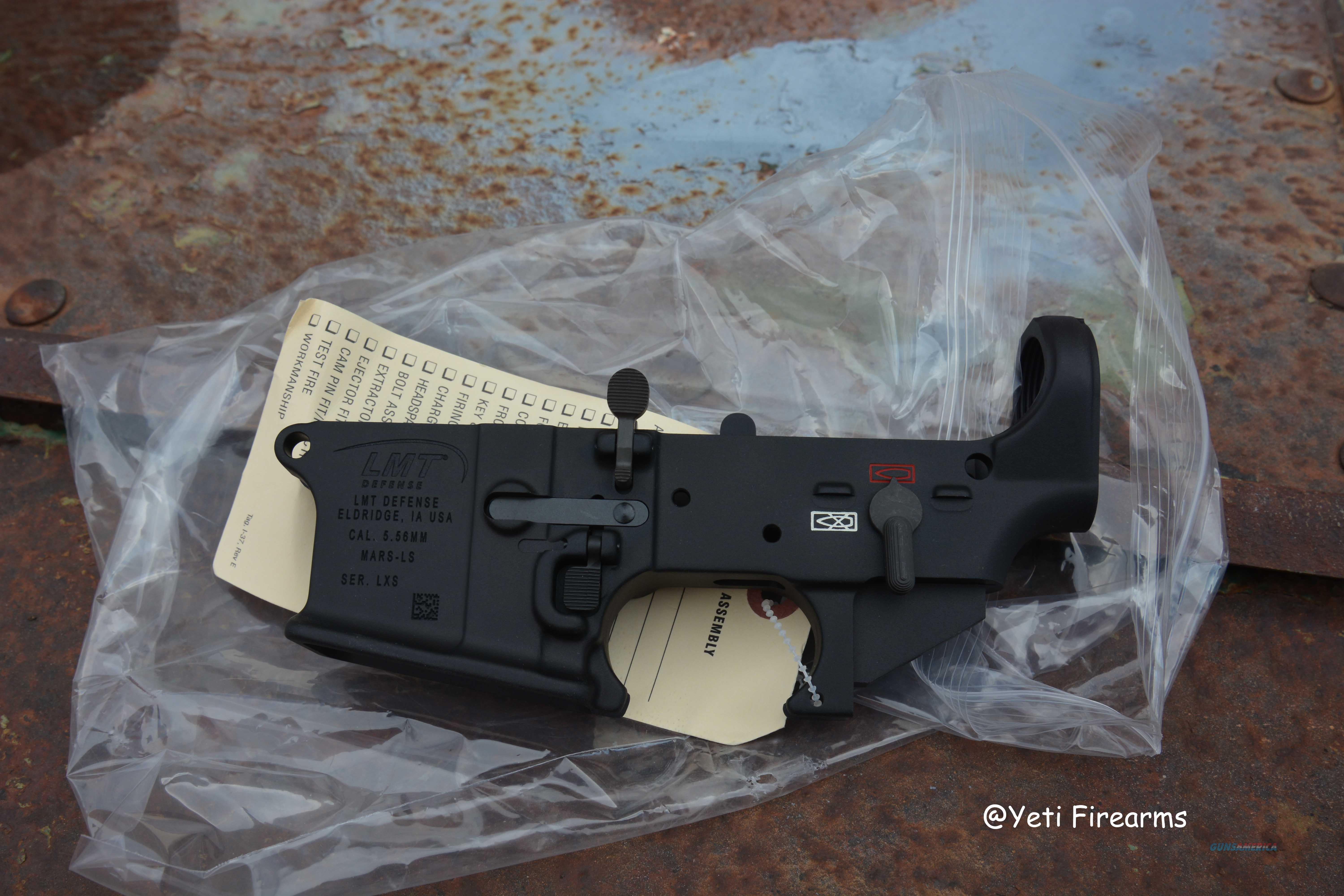 Lewis Stripped MARS-L AR-15 Lower M7SL LMT 5.56  Guns > Rifles > AR-15 Rifles - Small Manufacturers > Lower Only