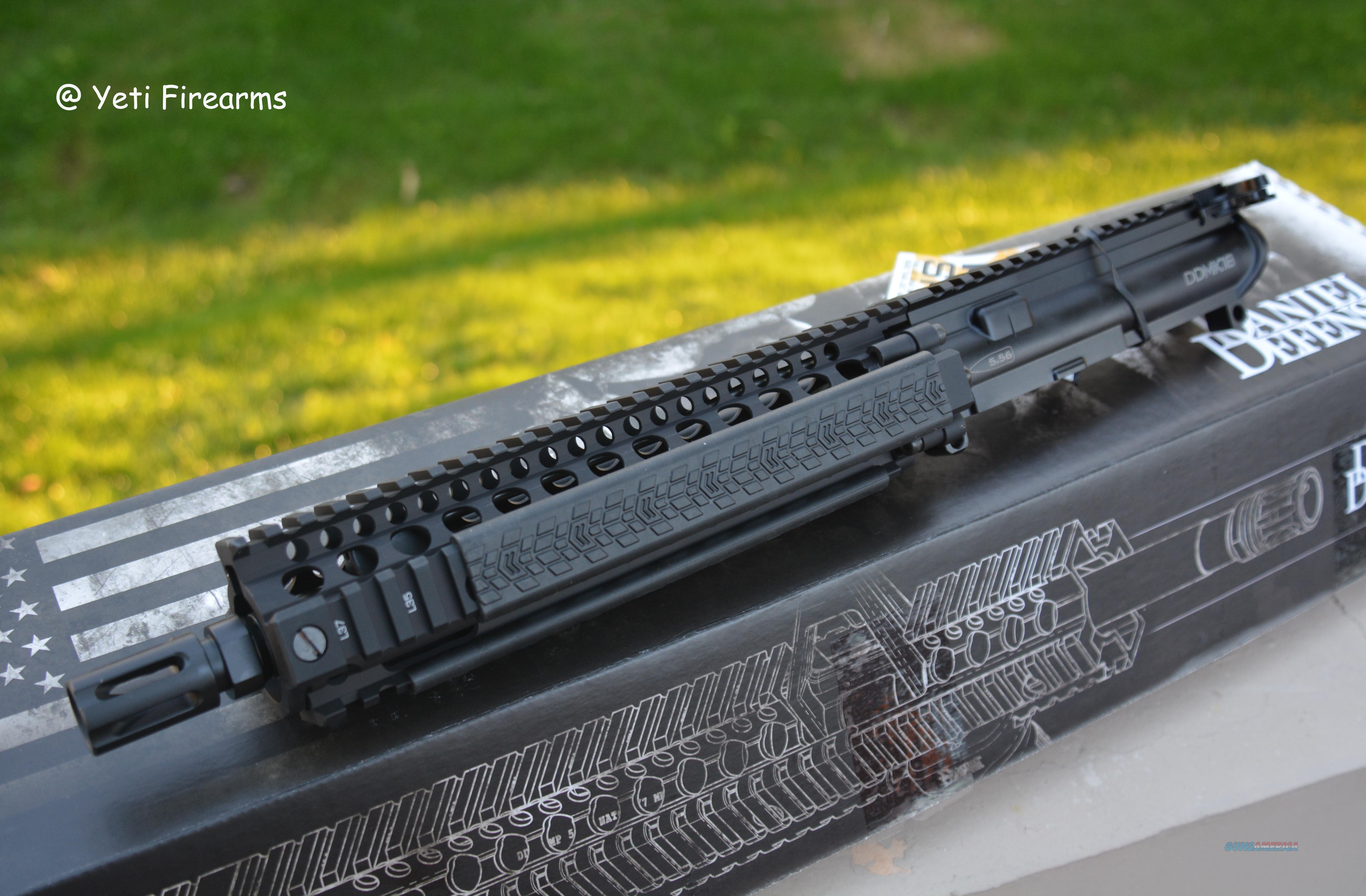 Daniel Defense MK18 Complete Upper 5.56 10.3 DD Black  Non-Guns > Gun Parts > M16-AR15 > Upper Only