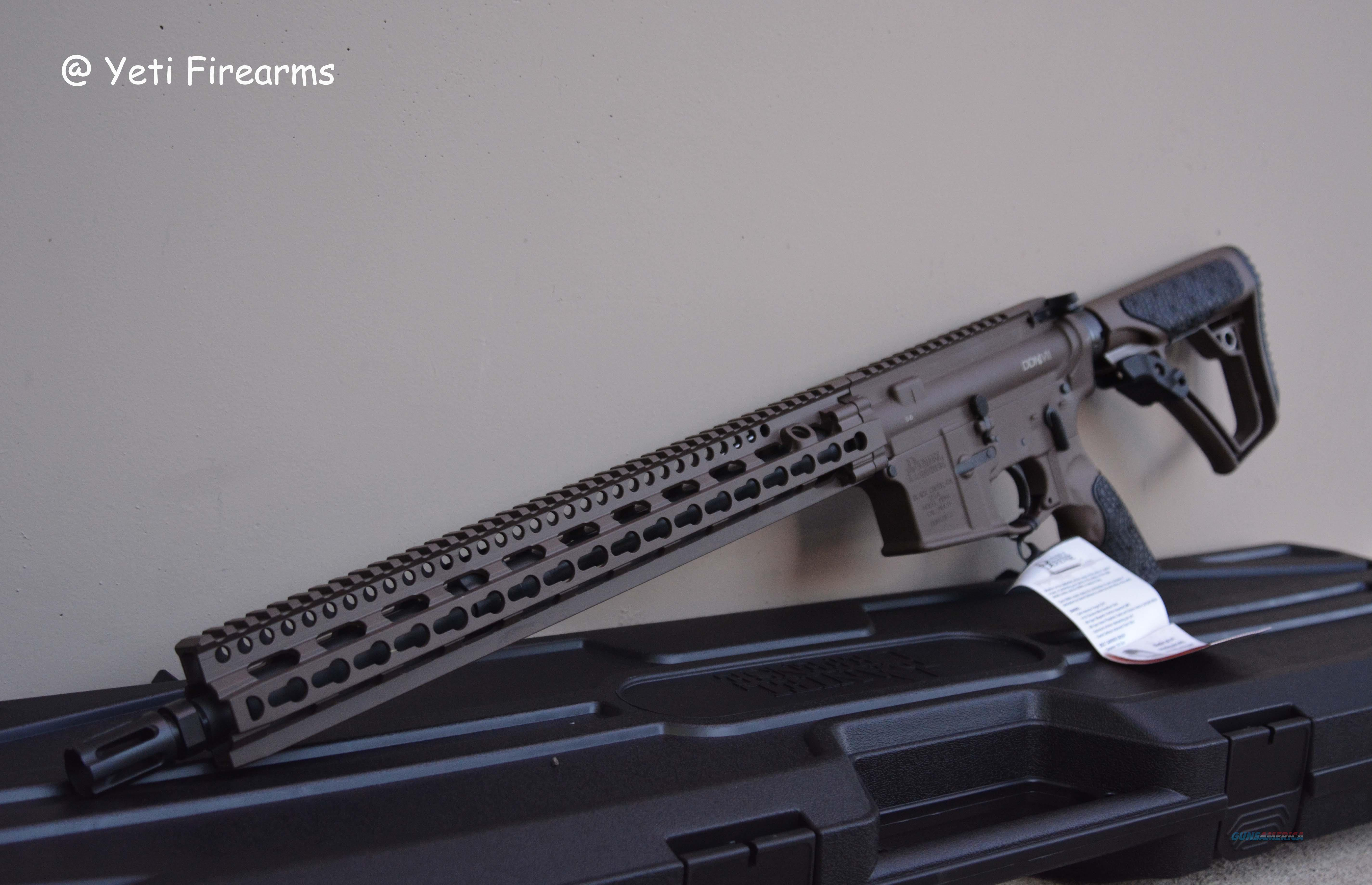 Daniel Defense DDM4 V11 Mil Spec + AR-15 FDE 5.56  Guns > Rifles > Daniel Defense > Complete Rifles
