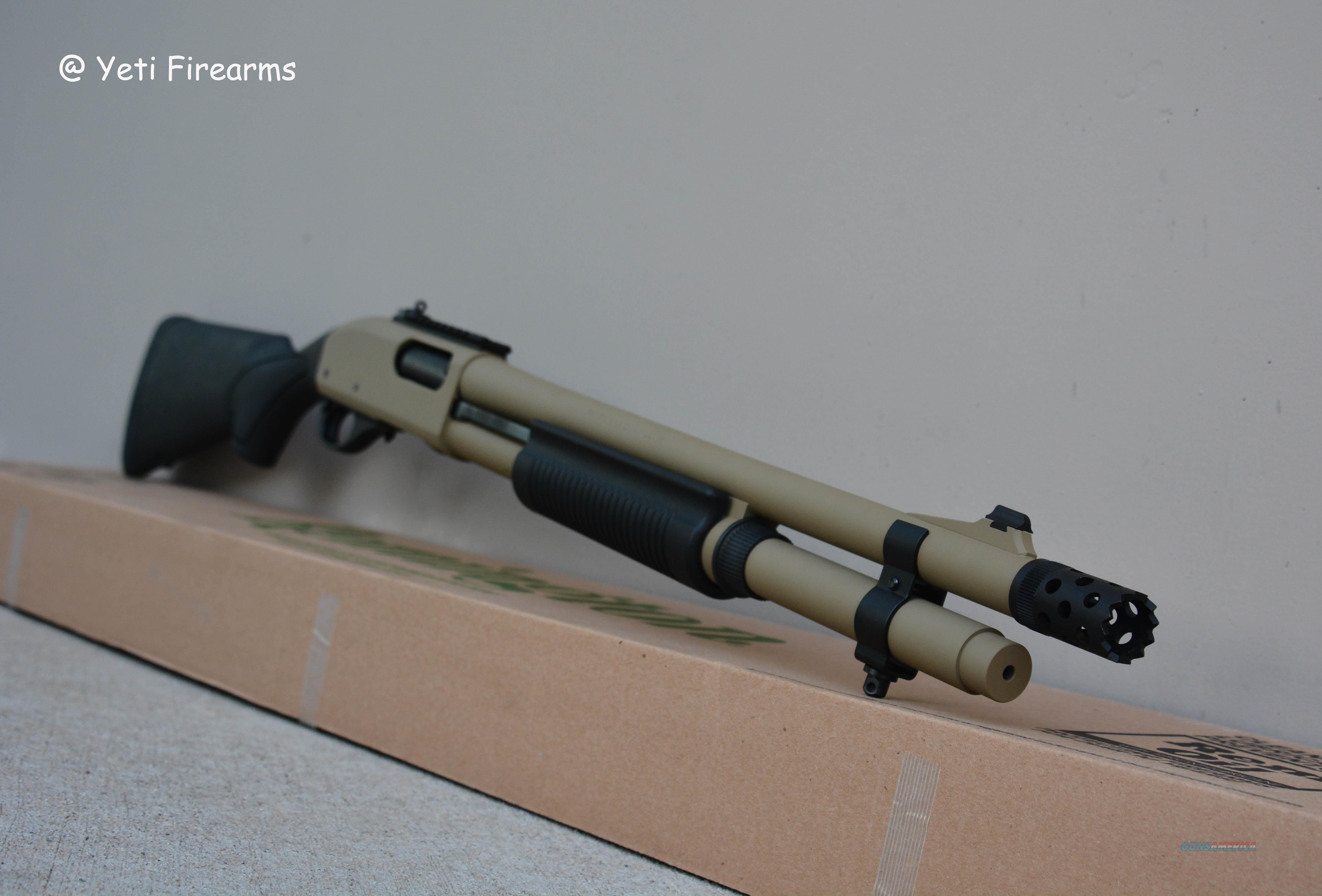 X-Werks Remington 870 81198 12 Ga Coyote Tan CT  Guns > Shotguns > Remington Shotguns  > Pump > Tactical