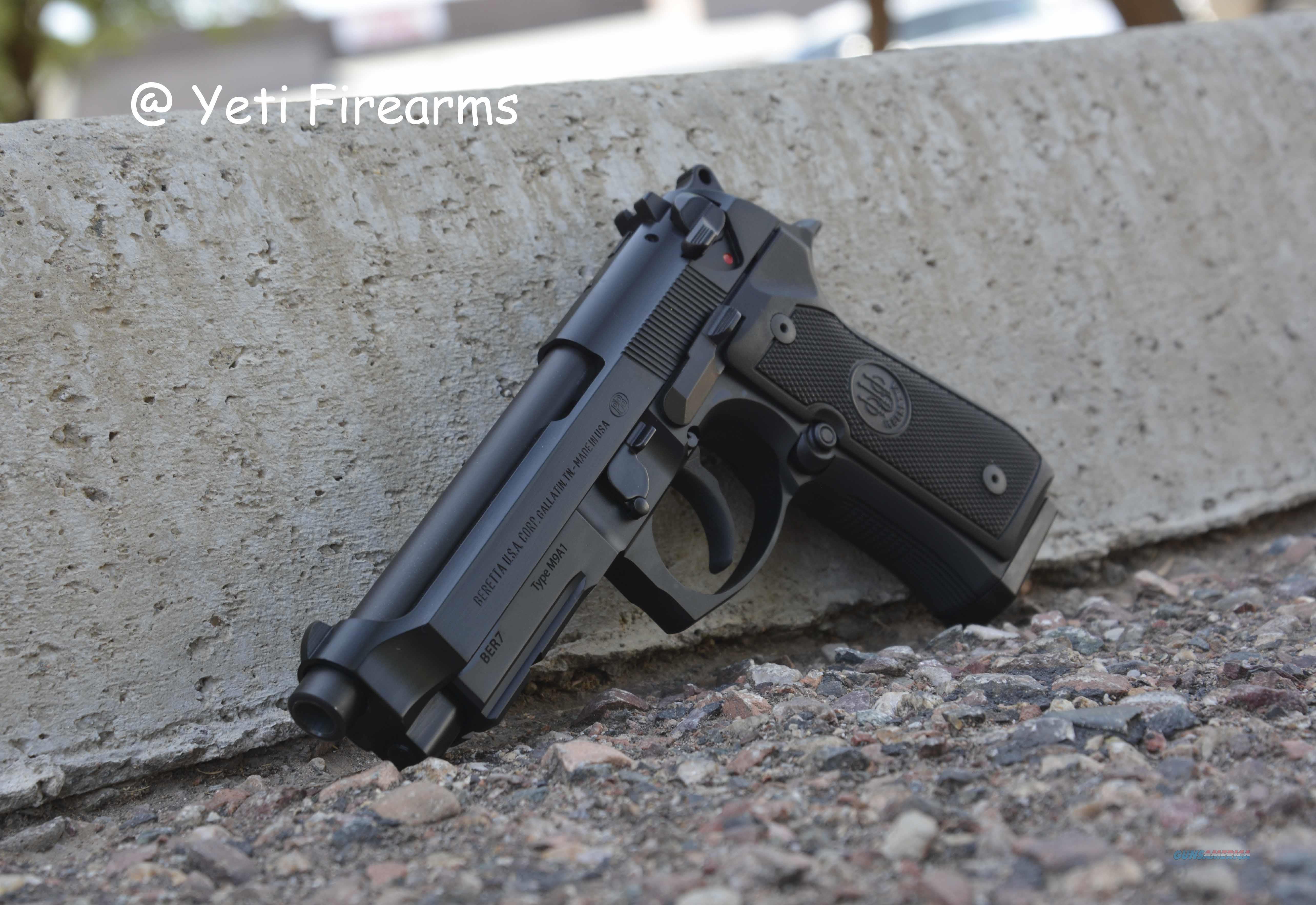 Beretta M9A1 9mm 2x 15 Round Magazines No CC Fee  Guns > Pistols > Beretta Pistols > M9