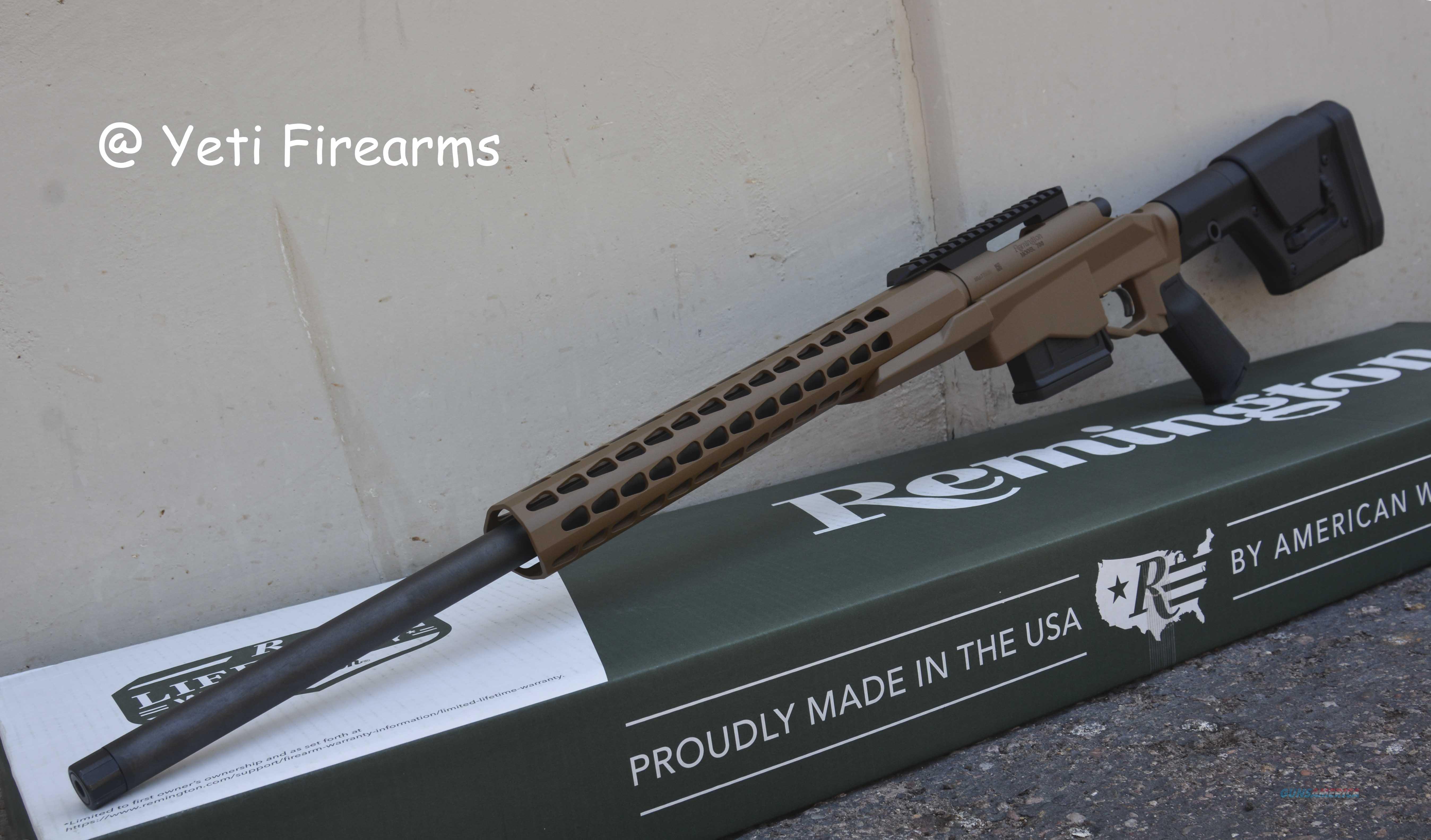 """Remington 700 PCR .308 24"""" TB 84587 Yeti Brown  Guns > Rifles > Remington Rifles - Modern > Model 700 > Tactical"""