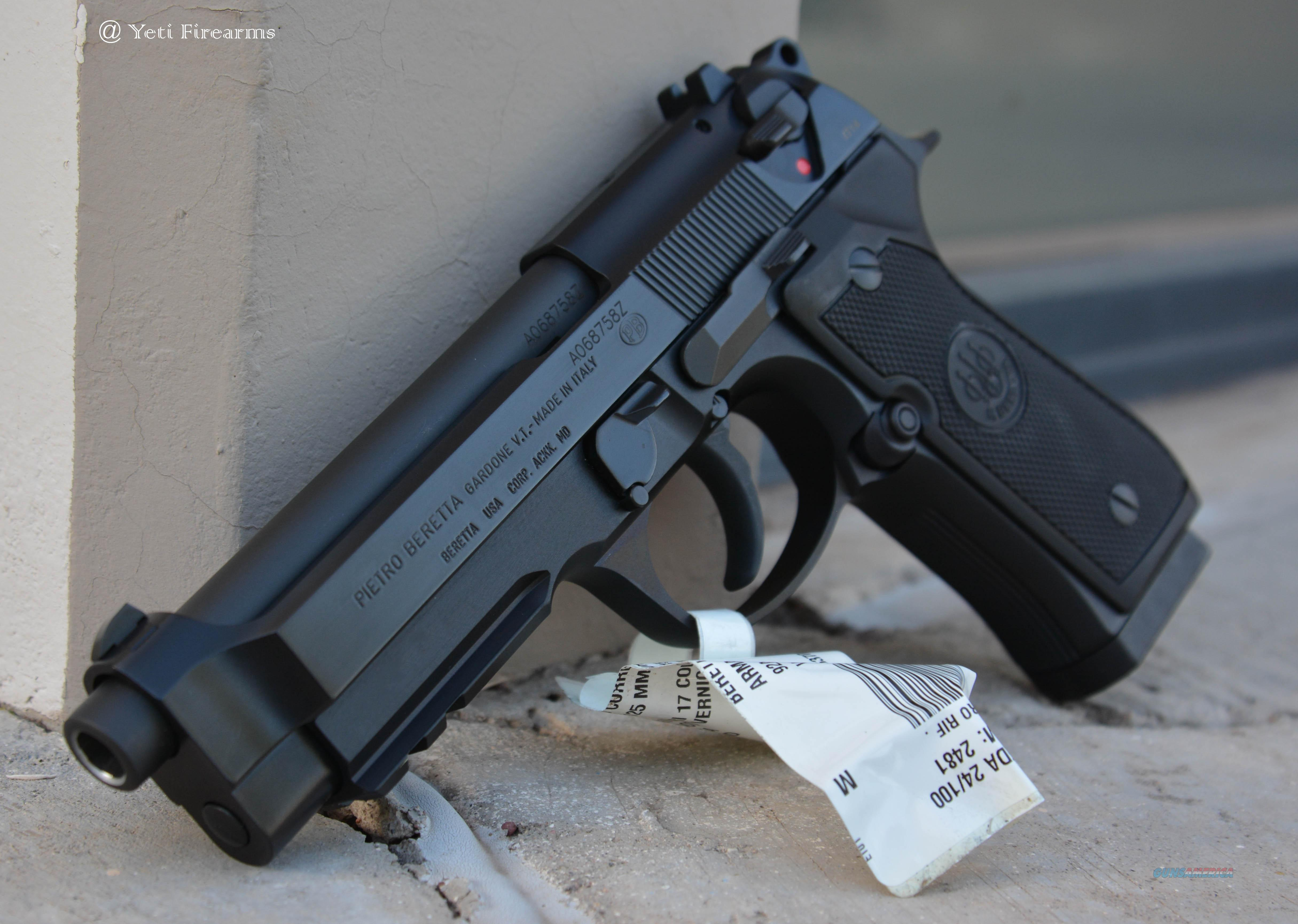 Beretta 92A1 9mm 3 17rnd Mags No CC Fee Light Rail  Guns > Pistols > Beretta Pistols > Model 92 Series