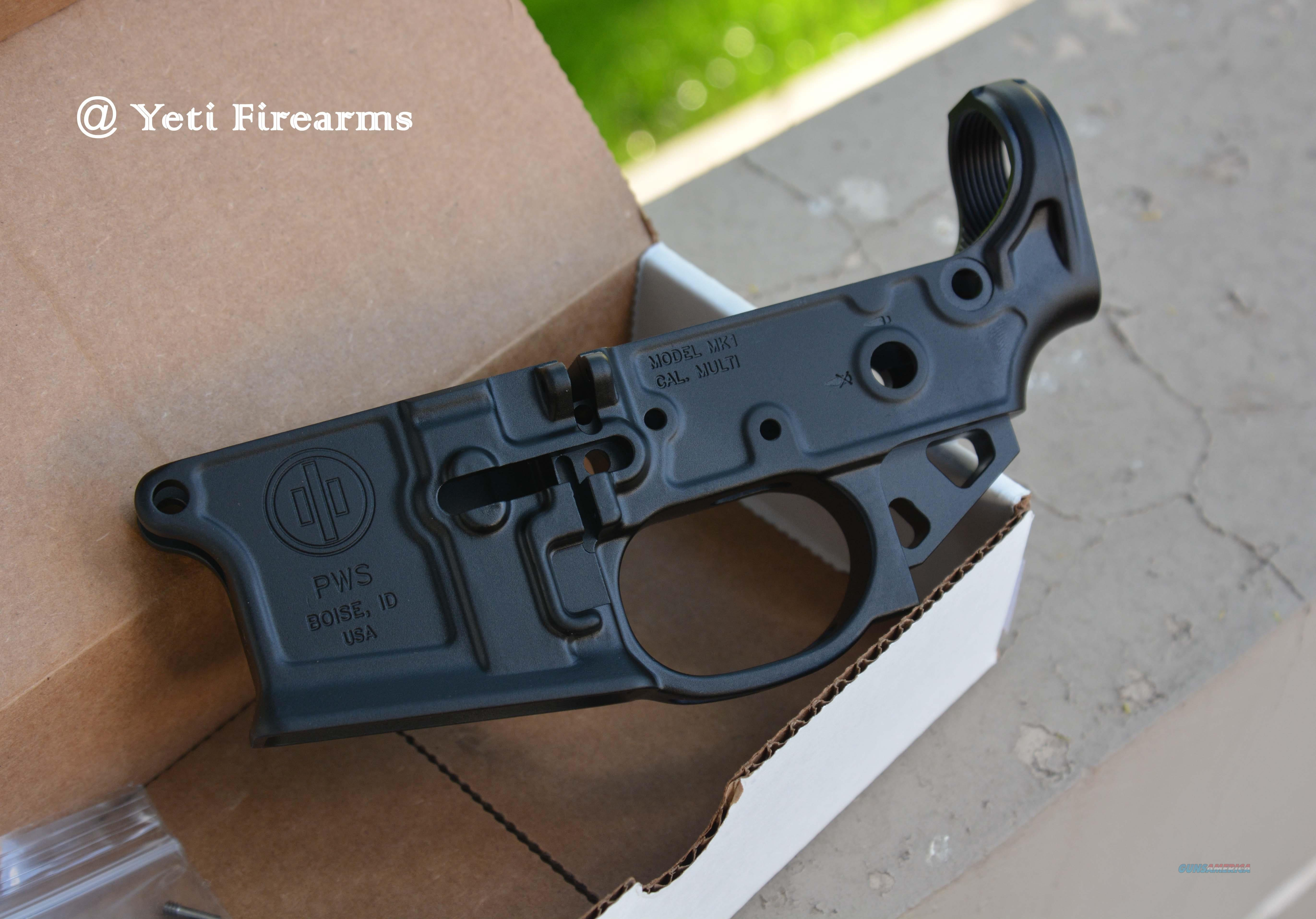 Primary MK1 MOD 2 Stripped Lower AR-15 PWS 5.56  Guns > Rifles > AR-15 Rifles - Small Manufacturers > Lower Only