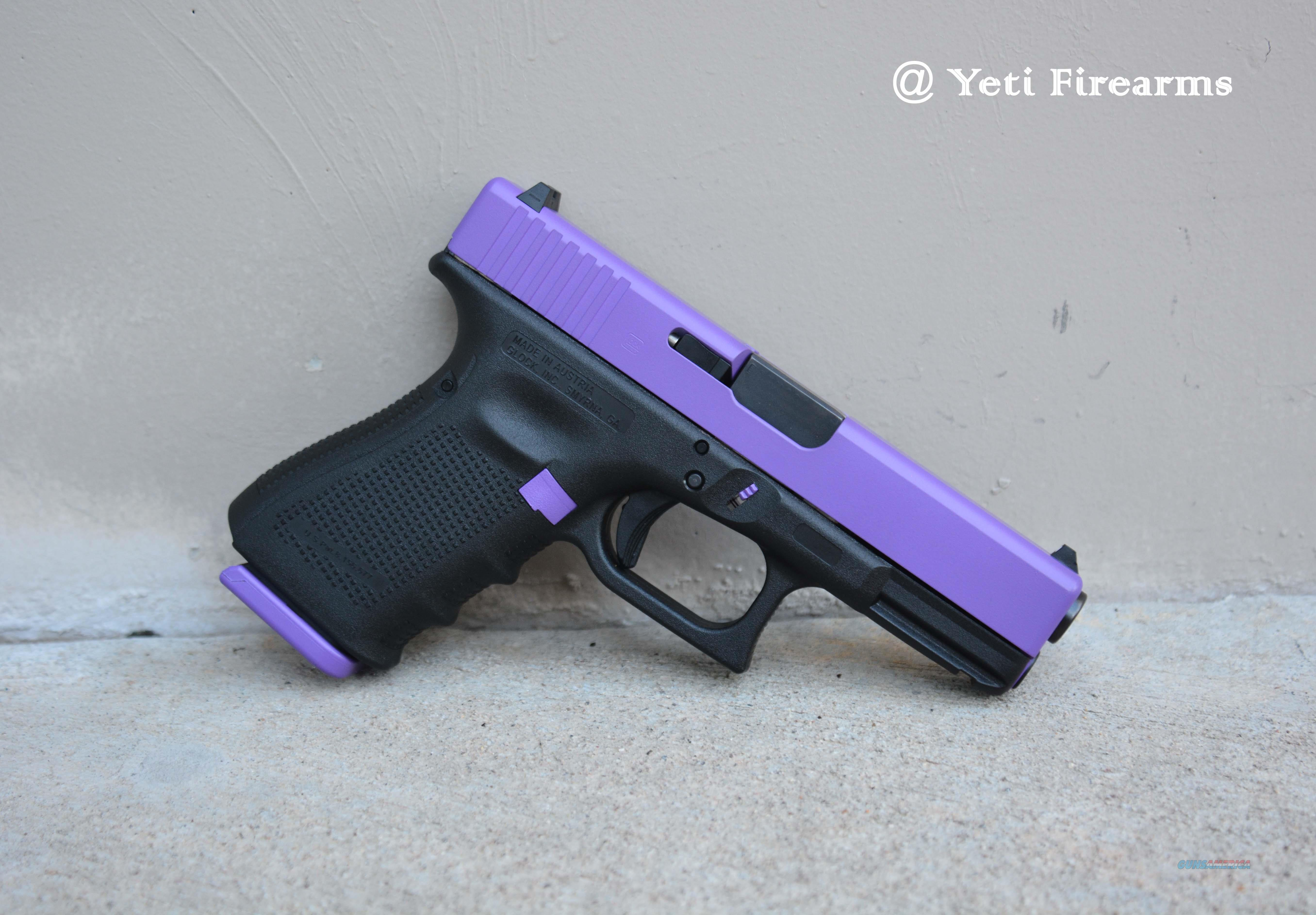 X-Werks Glock 19 Gen 4 9mm Purple Slide + Parts 15  Guns > Pistols > Glock Pistols > 19