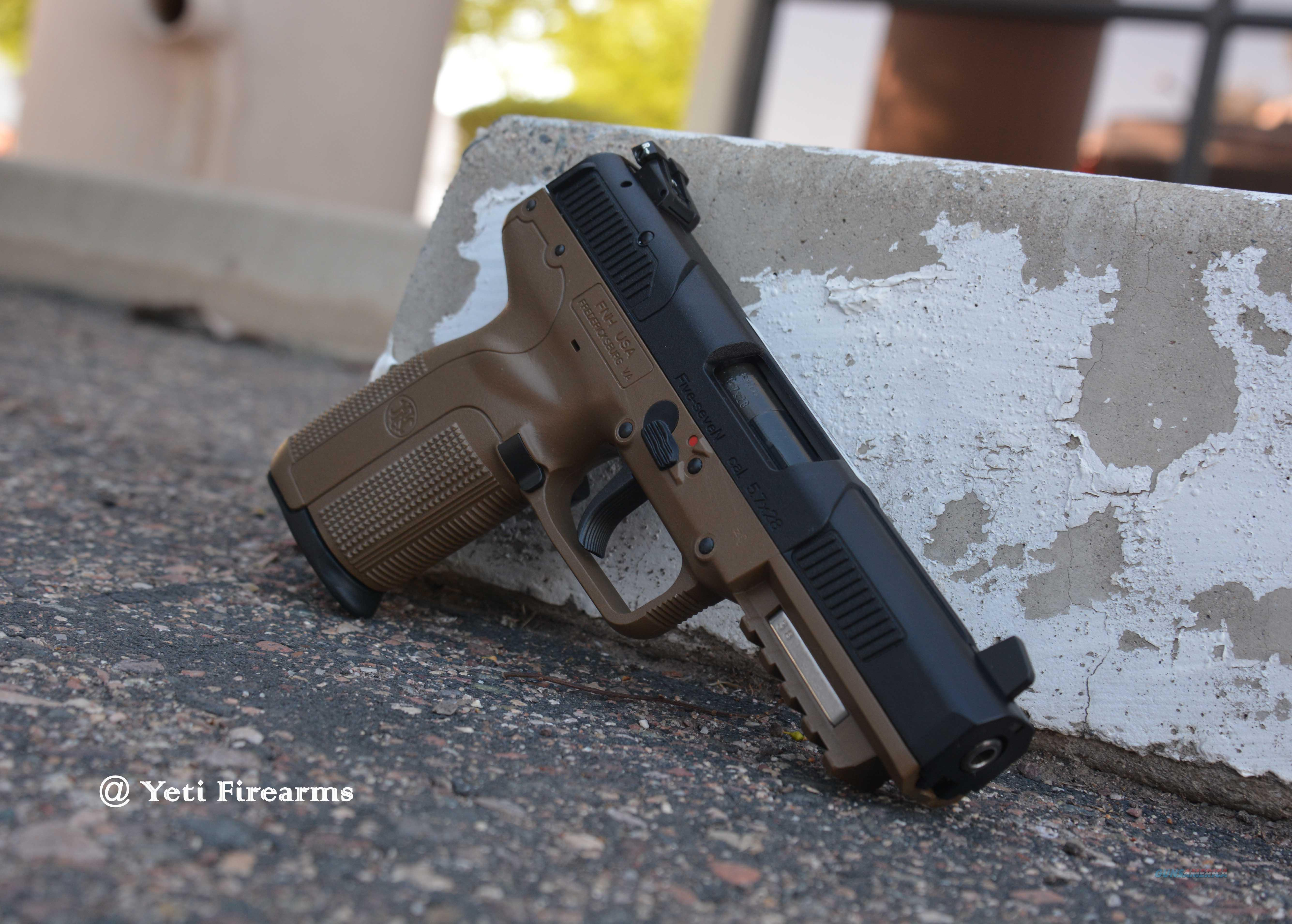 FN Five-Seven FDE 5.7x28 20rnd 3 Mags FNH 5.7  Guns > Pistols > FNH - Fabrique Nationale (FN) Pistols > FiveSeven