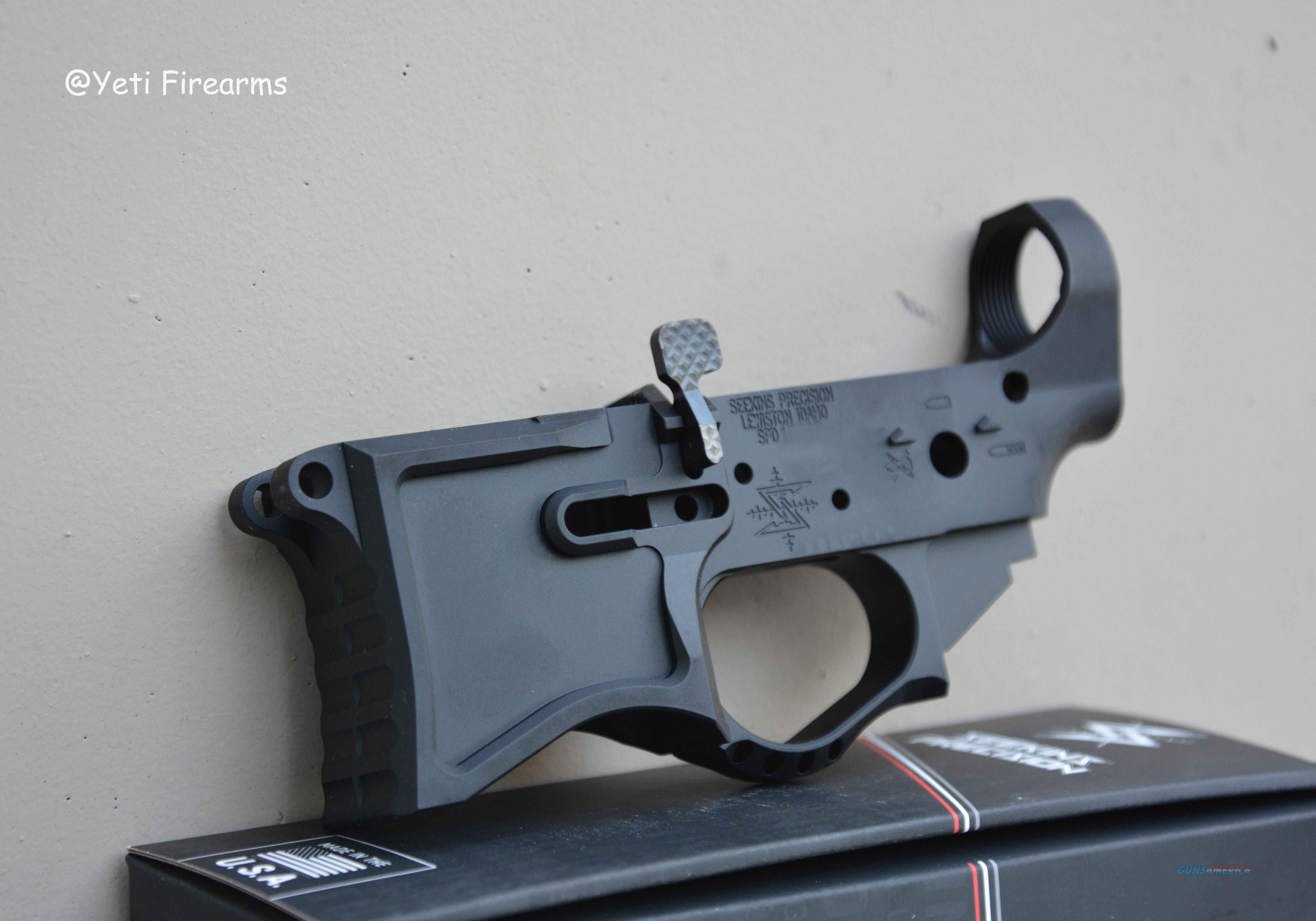 Seekins Precision SP223 Gen 2 Billet Lower AR-15  Guns > Rifles > AR-15 Rifles - Small Manufacturers > Lower Only