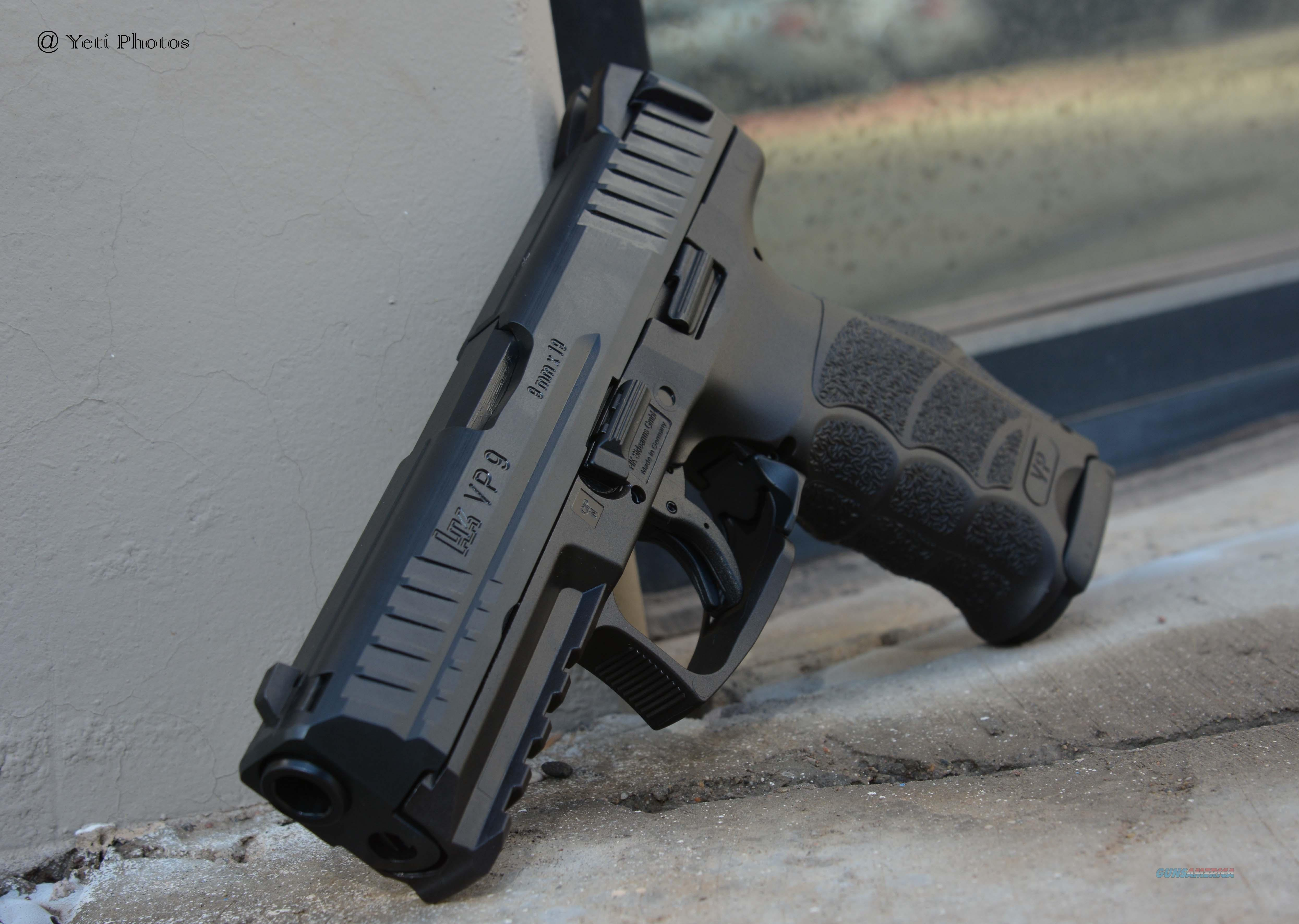 Heckler & Koch VP9 9mm H&K 15rnd Mags No CC Fee  Guns > Pistols > Heckler & Koch Pistols > Polymer Frame