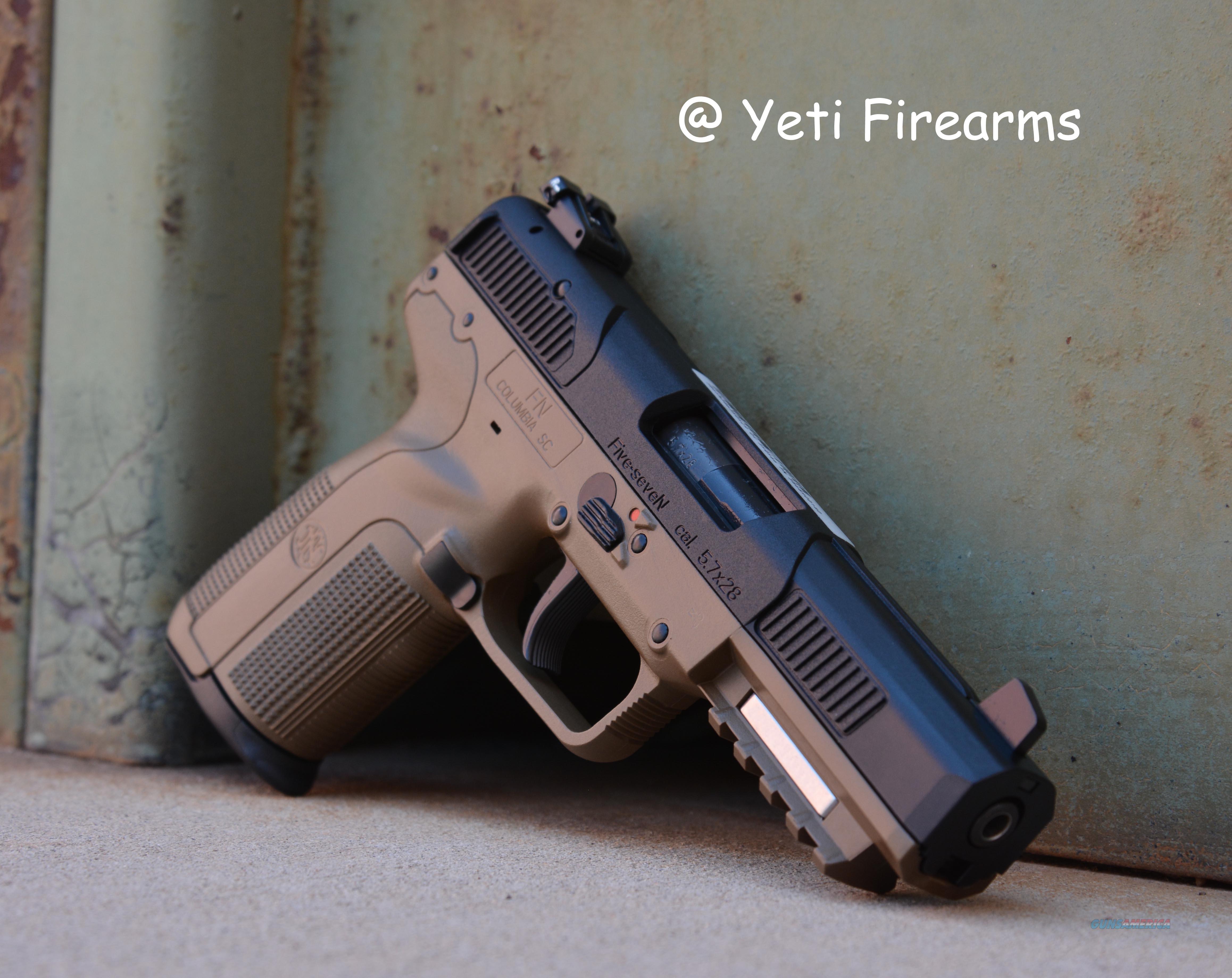 FN Five-Seven FDE 5.7x28 20rnd 3 Mags 5.7 FNH  Guns > Pistols > FNH - Fabrique Nationale (FN) Pistols > FiveSeven
