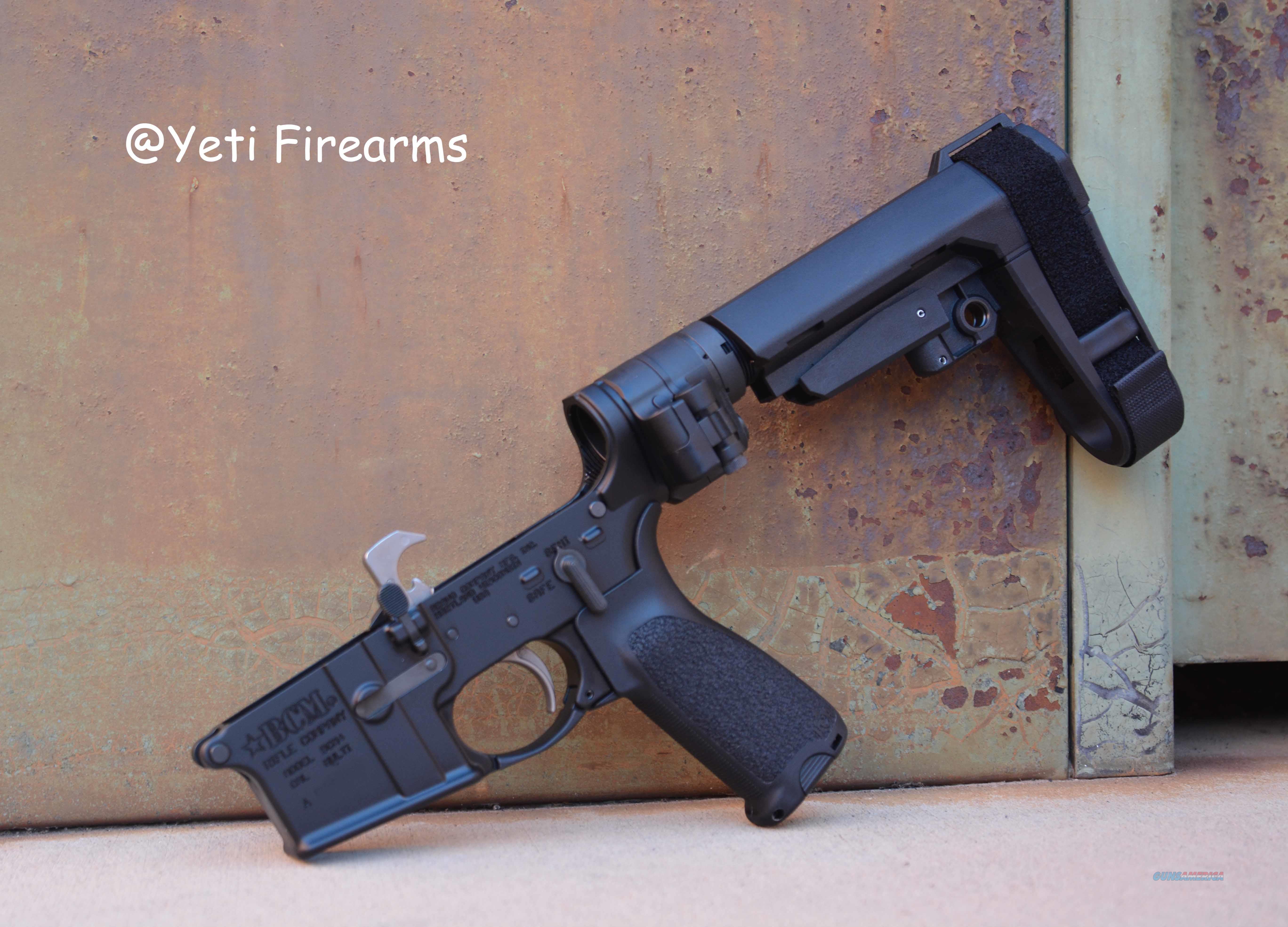 Bravo Company BCM4 Pistol Lower SBA3 Law Folder   Guns > Pistols > B Misc Pistols