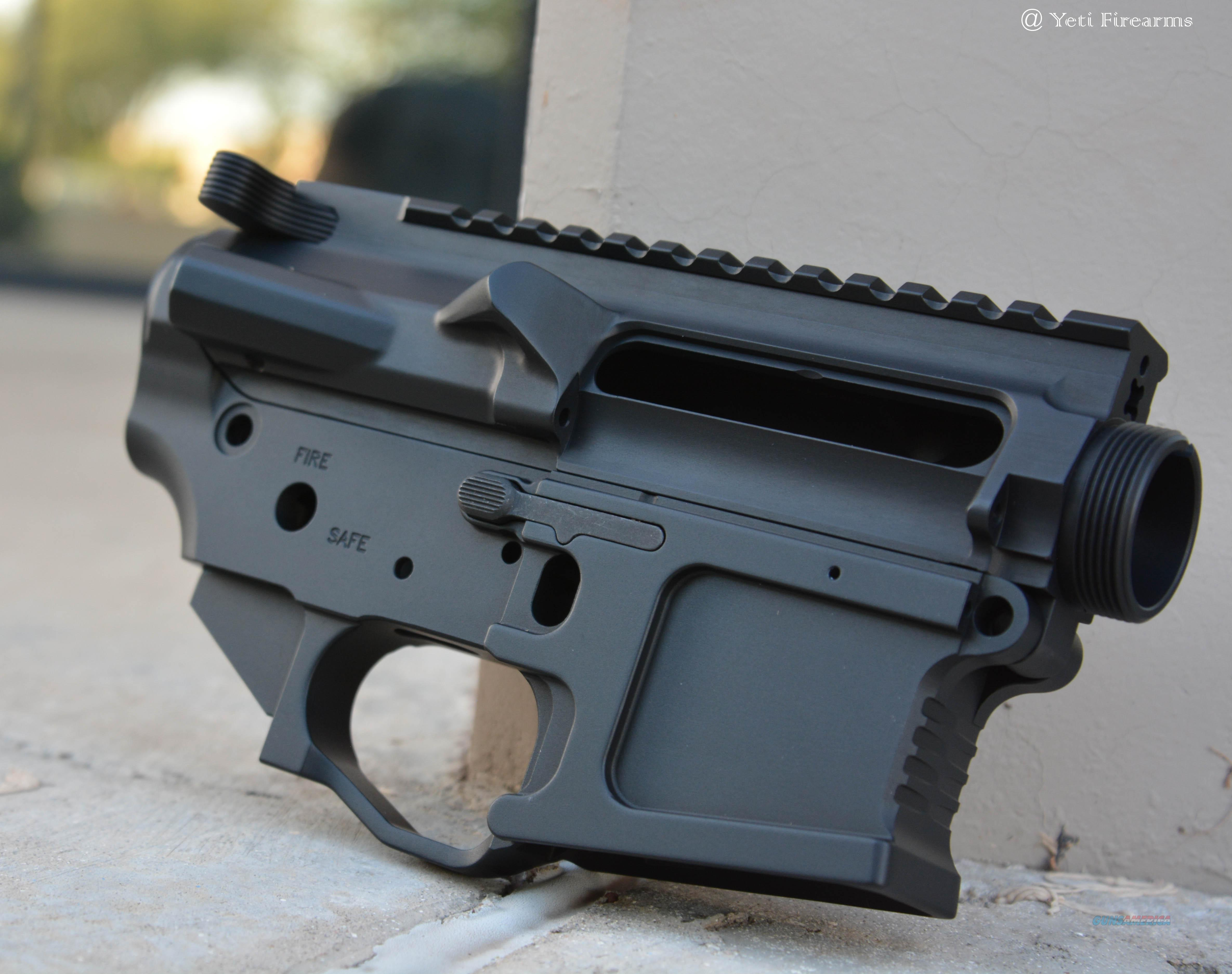 Mega Arms AR-15 Billet Ambi Receiver Set M0910-HA  Guns > Rifles > AR-15 Rifles - Small Manufacturers > Lower Only