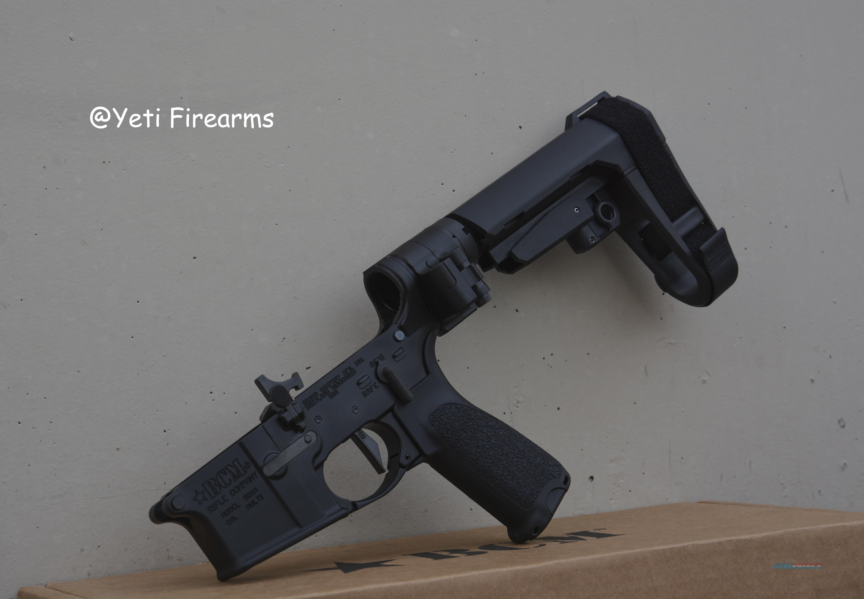 Custom BCM AR-15 Pistol Lower W/ Law, SBA3, SD-C  Guns > Rifles > AR-15 Rifles - Small Manufacturers > Lower Only
