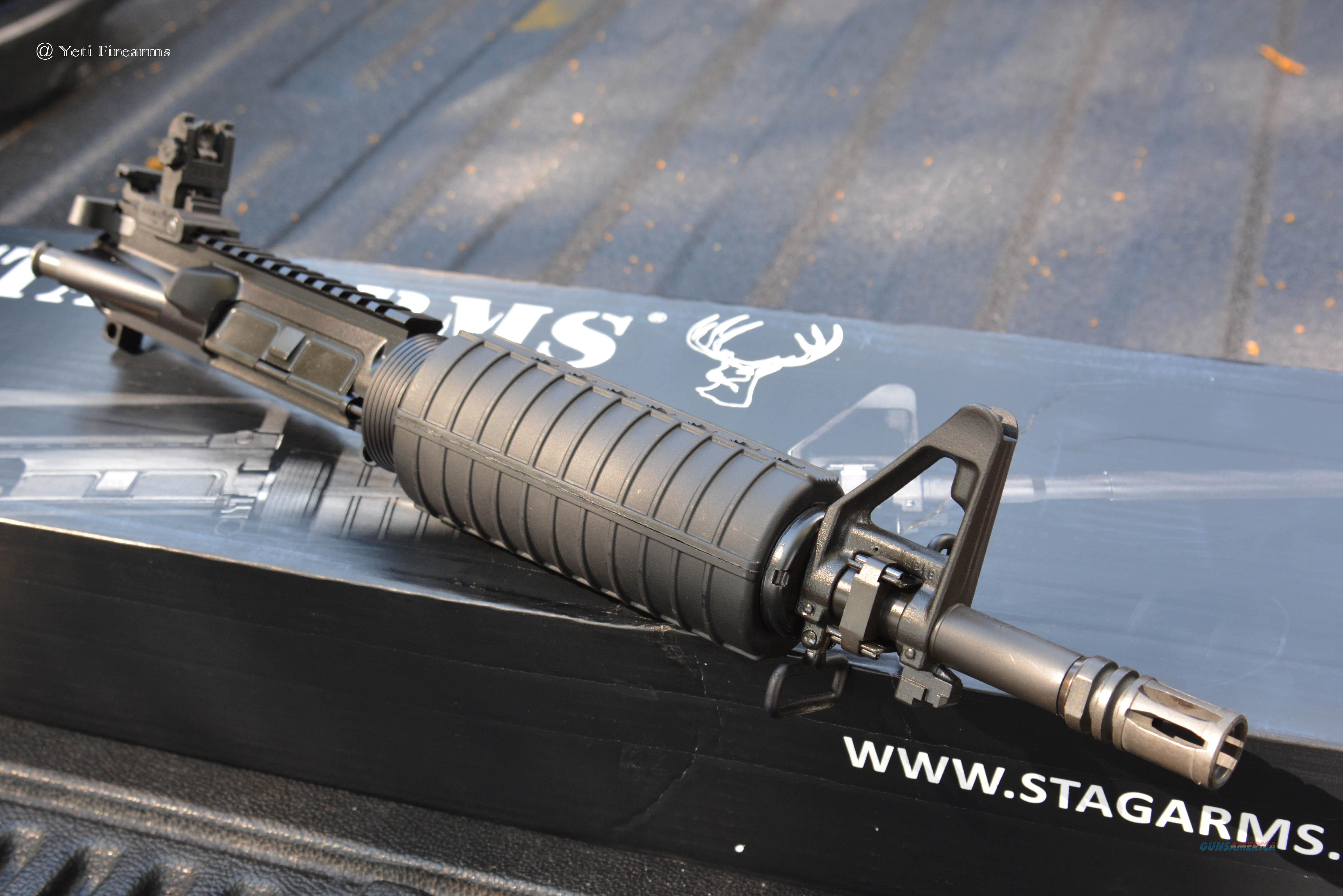 "Stag Arms Complete AR-15 SBR Upper 5.56mm 11.5""  Non-Guns > Gun Parts > M16-AR15 > Upper Only"