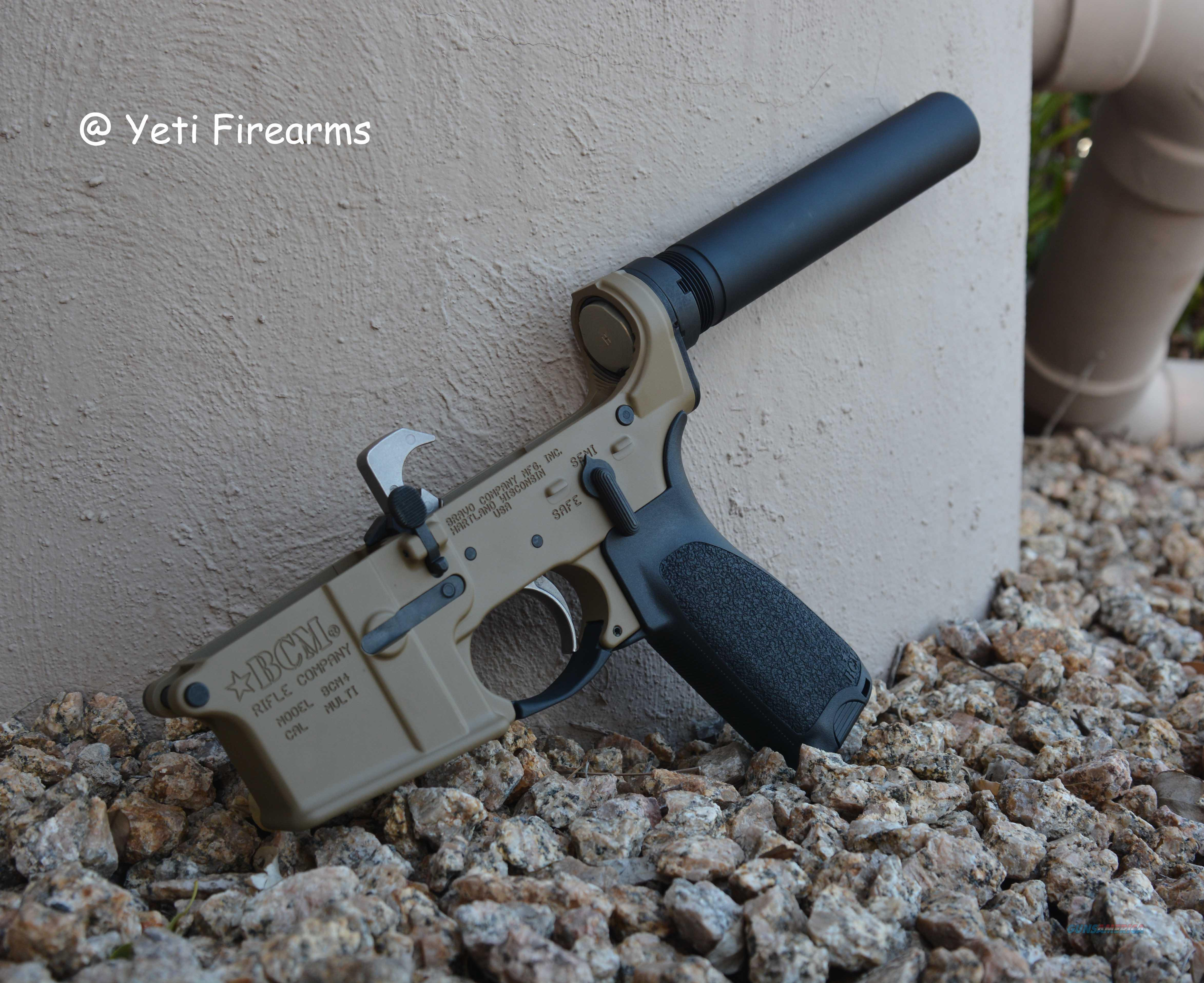 X-Werks BCM Complete Pistol AR-15 Lower Coyote Tan  Guns > Pistols > B Misc Pistols