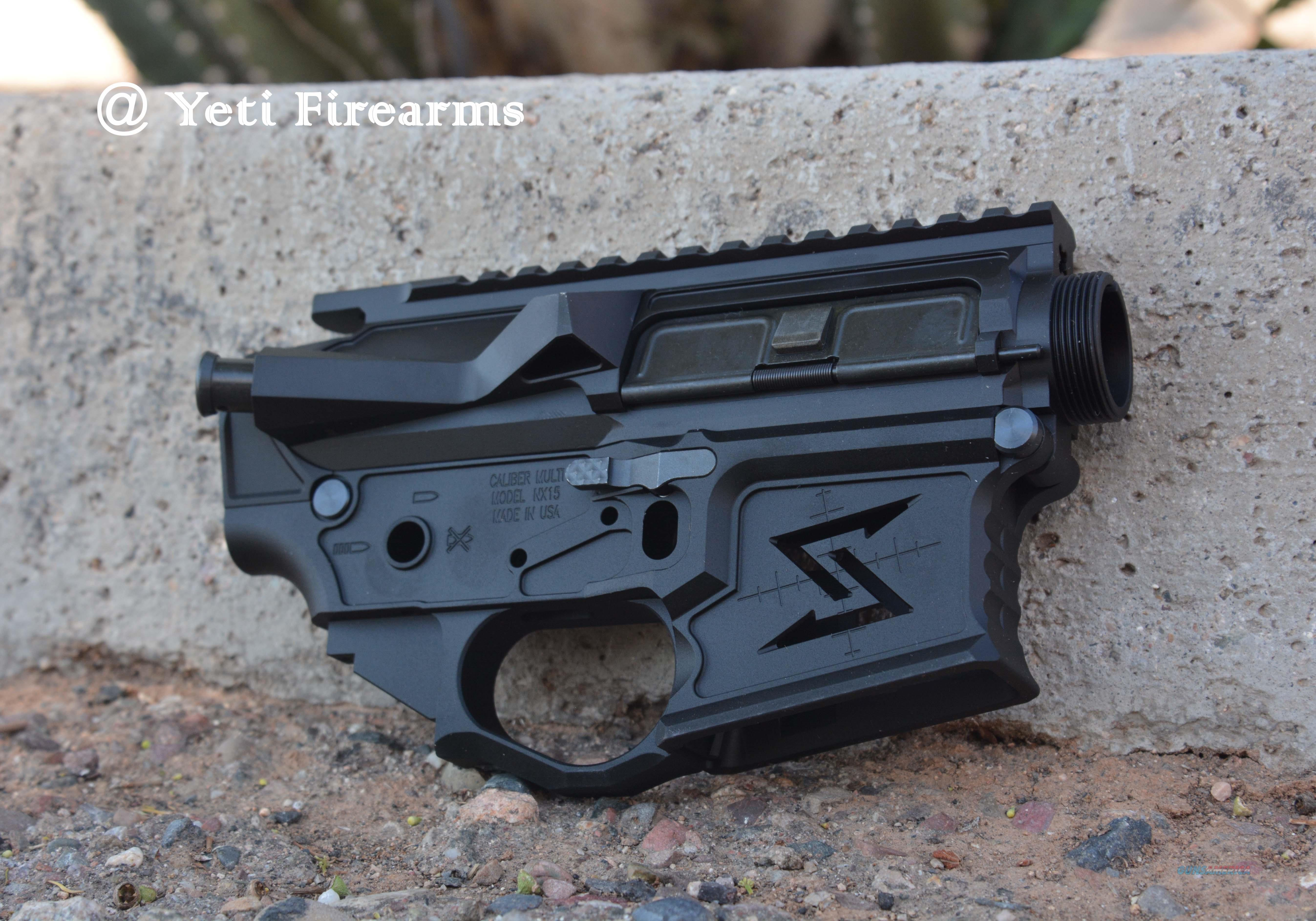 Seekins NX15 Skeletonized AR-15 Receiver Set 5.56  Guns > Rifles > AR-15 Rifles - Small Manufacturers > Lower Only