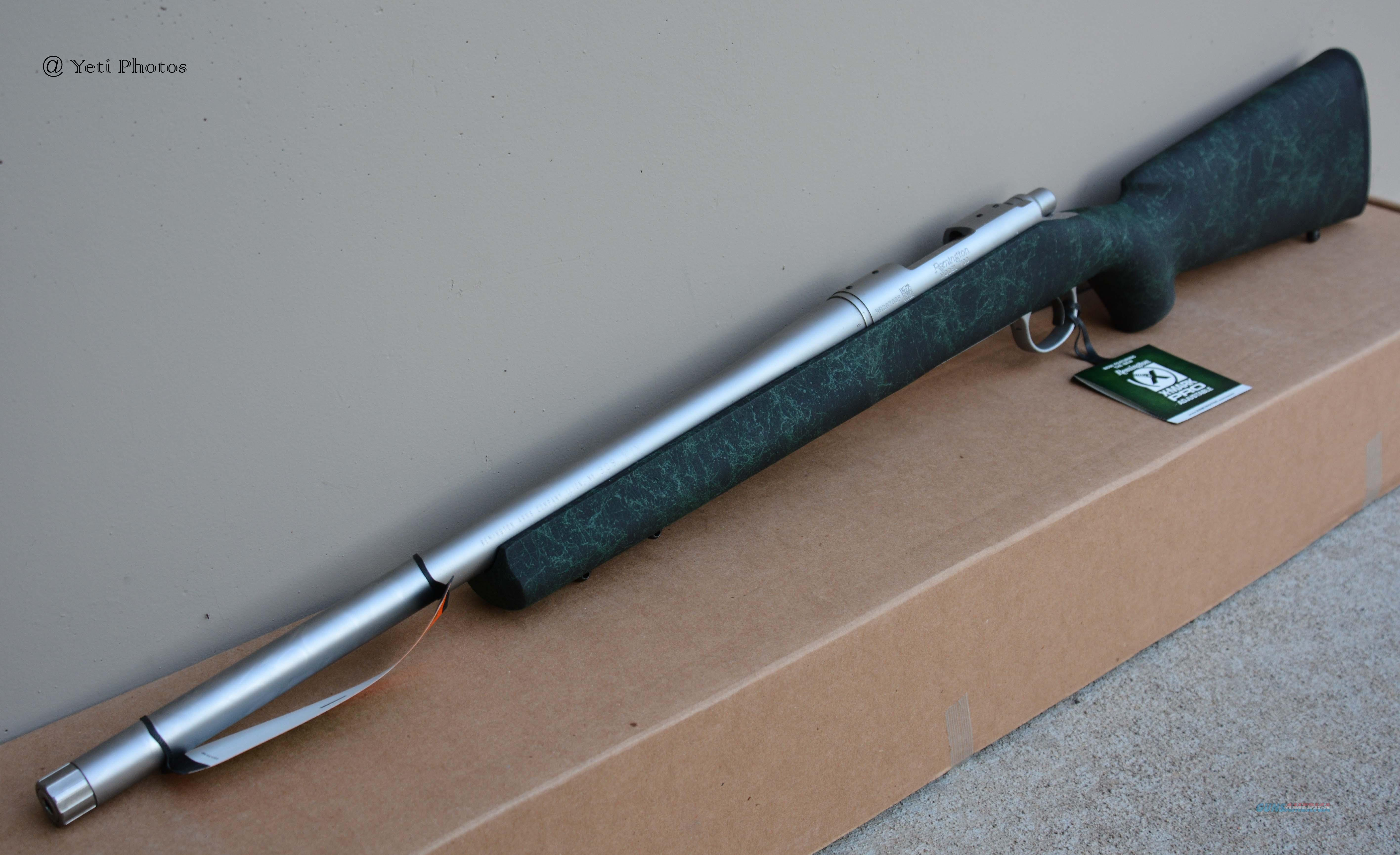 "Remington 700 5R 20"" .308 Threaded 85200 TB  Guns > Rifles > Remington Rifles - Modern > Model 700 > Tactical"
