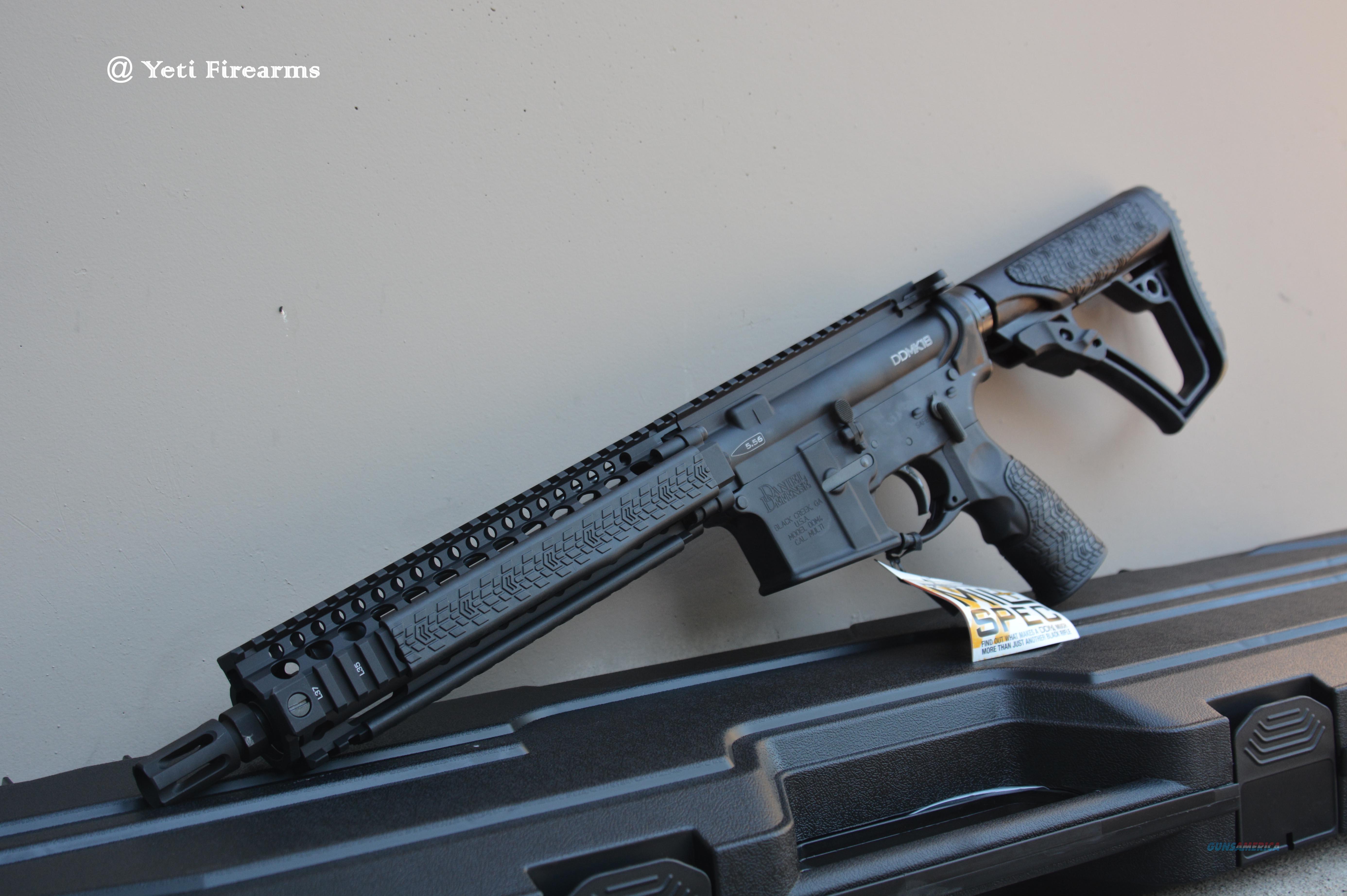 """Daniel Defense MK18 AR-15 SBR 10.3"""" Black 5.56mm  Guns > Rifles > Class 3 Rifles > Class 3 Subguns"""