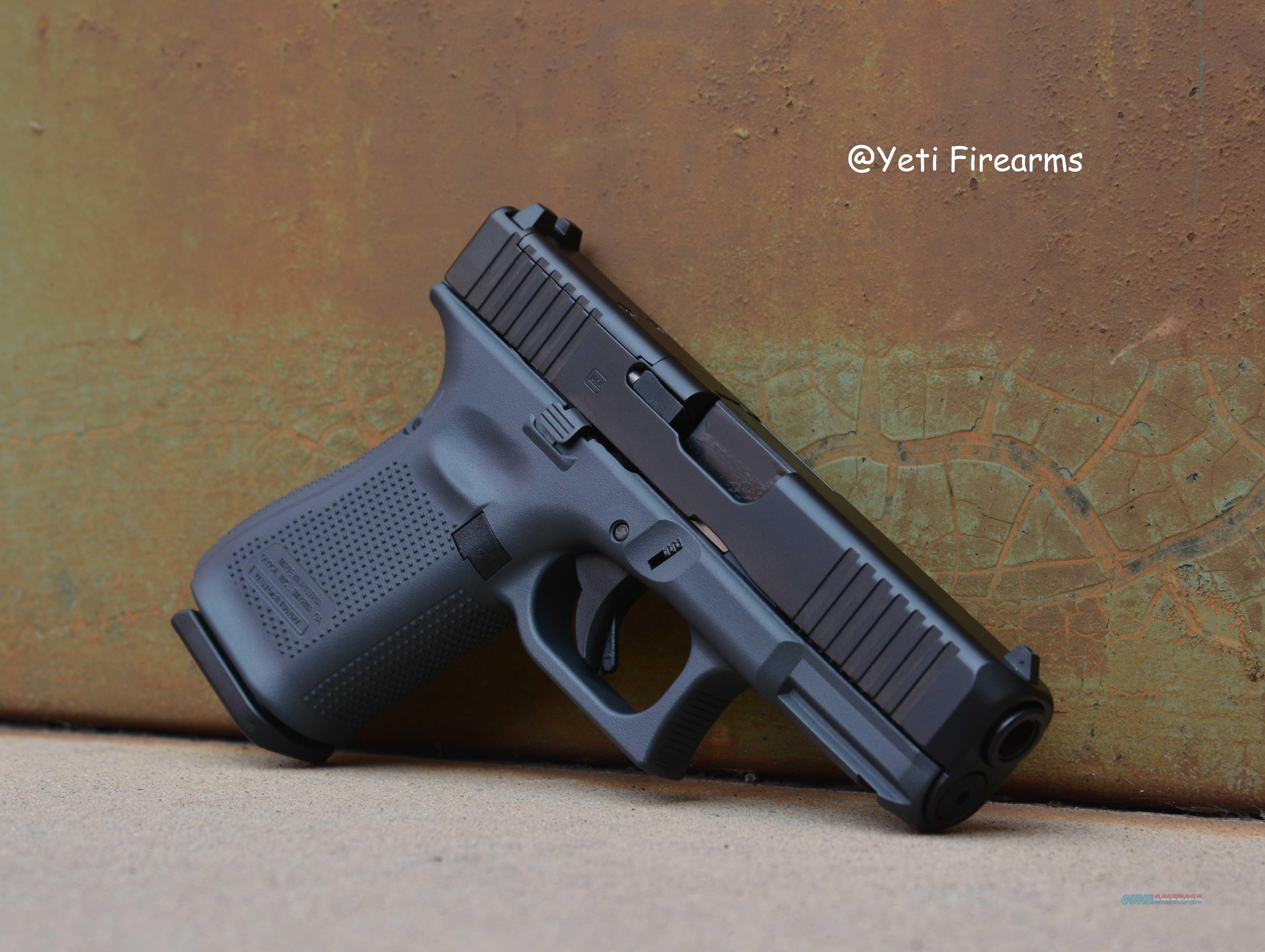 Glock 19 G5 MOS 9mm Glock Gray 15rnd No CC Fee  Guns > Pistols > Glock Pistols > 19/19X