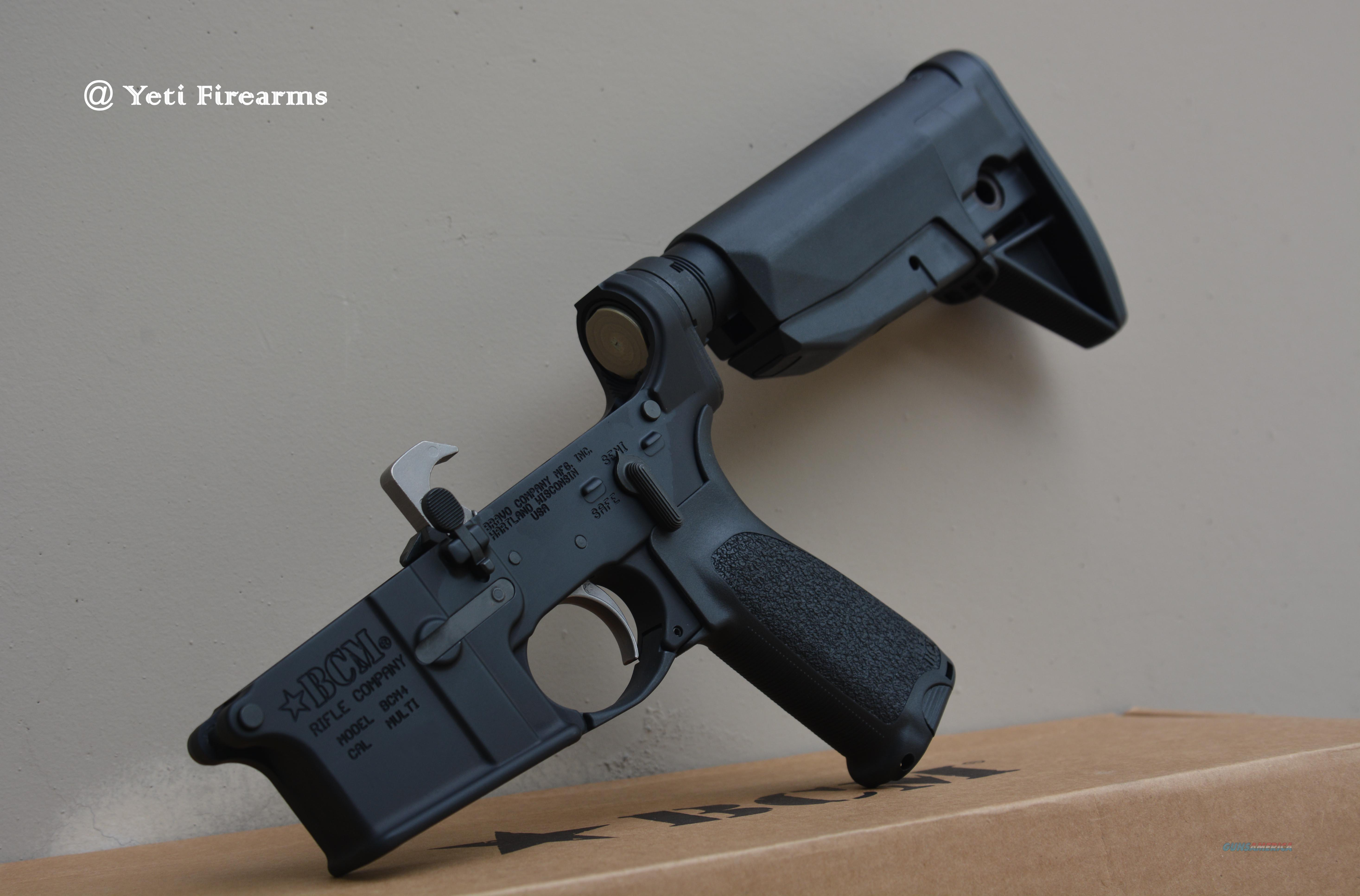 BCM Complete BCM4 AR-15 Lower Mod 0 Stock Black  Guns > Rifles > AR-15 Rifles - Small Manufacturers > Lower Only