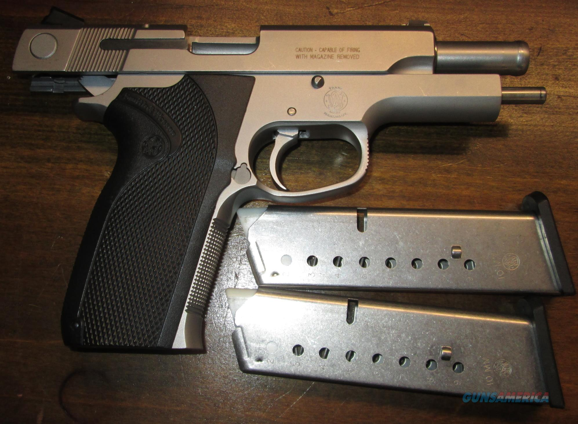 For Sale: S&W 1076 10MM GOV'T MODEL (FBI/POLICE) VERIFIED HISTORY  Guns > Pistols > Smith & Wesson Pistols - Autos > Steel Frame