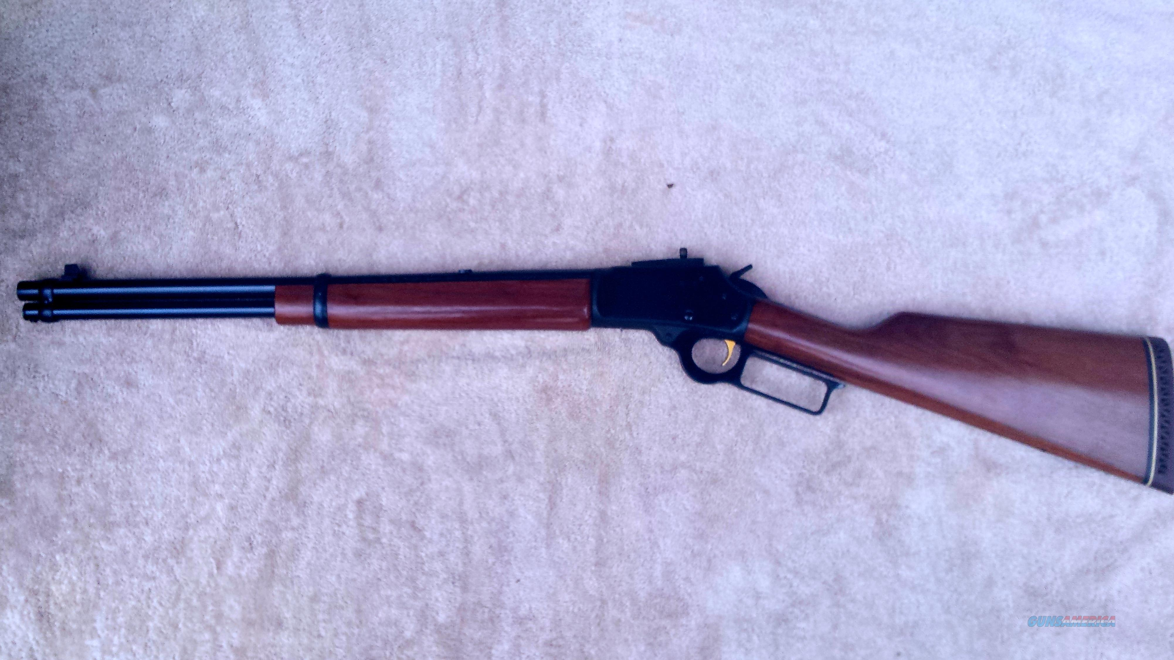 how to break in a new lever action rifle
