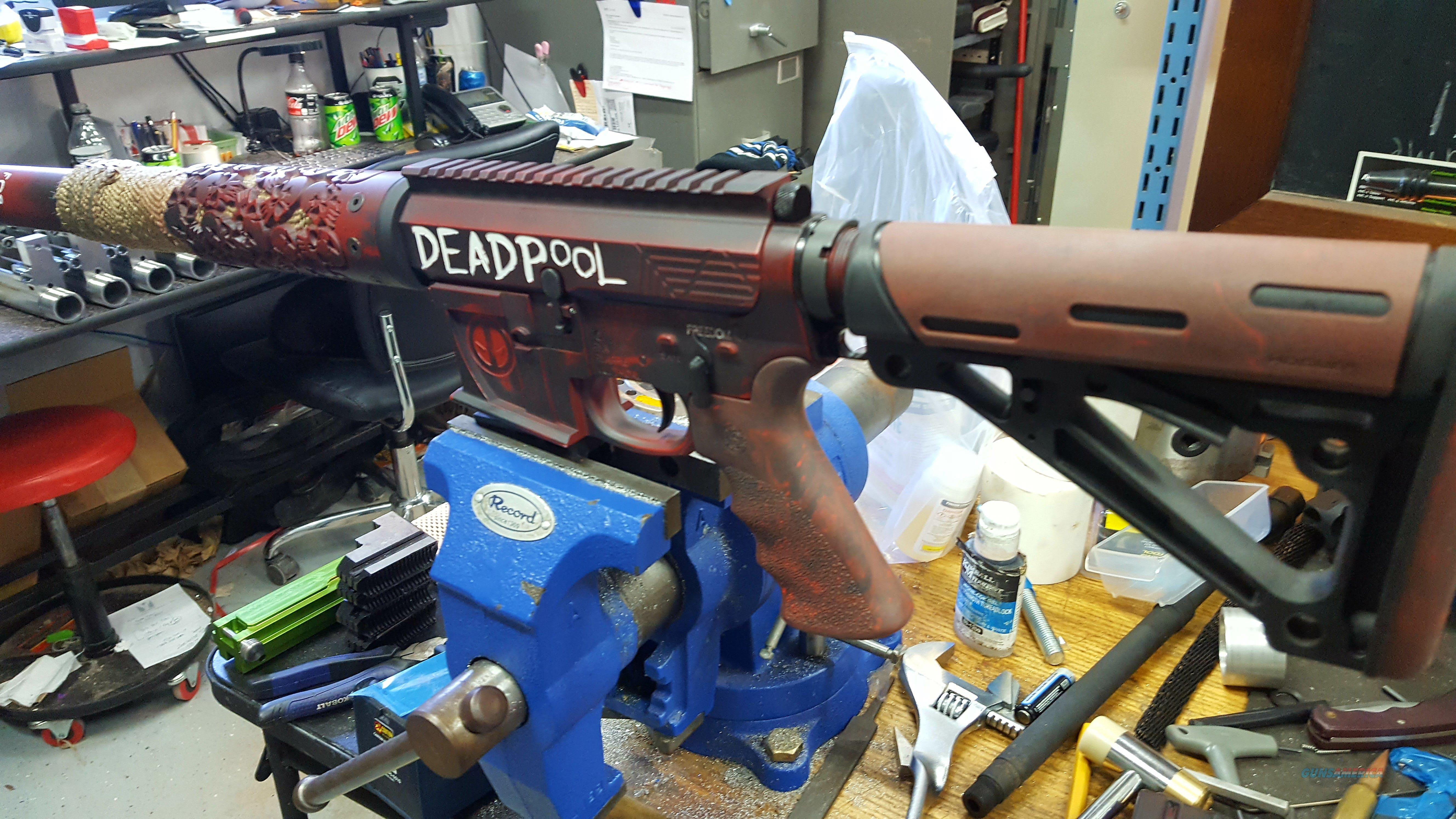 DEADPooL AR 15  Guns > Rifles > AR-15 Rifles - Small Manufacturers > Complete Rifle