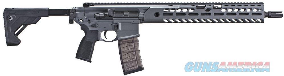 "SIG Sauer MCX Virtus Patrol Semi Auto Rifle 5.56 NATO 16"" Barrel 30 Rounds Folding/Collapsible Stock Concrete Gray Finish   RMCX-16B-TAP-P  798681578207  Guns > Rifles > Sig - Sauer/Sigarms Rifles"