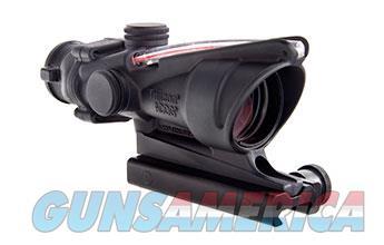 Trijicon TA31-C-100411: Trijicon ACOG 4x32 Scope, Dual Illuminated Red Crosshair 300 BLK Reticle w/ TA51 Mount  100411 719307308282  Non-Guns > Scopes/Mounts/Rings & Optics > Tactical Scopes > Variable Recticle