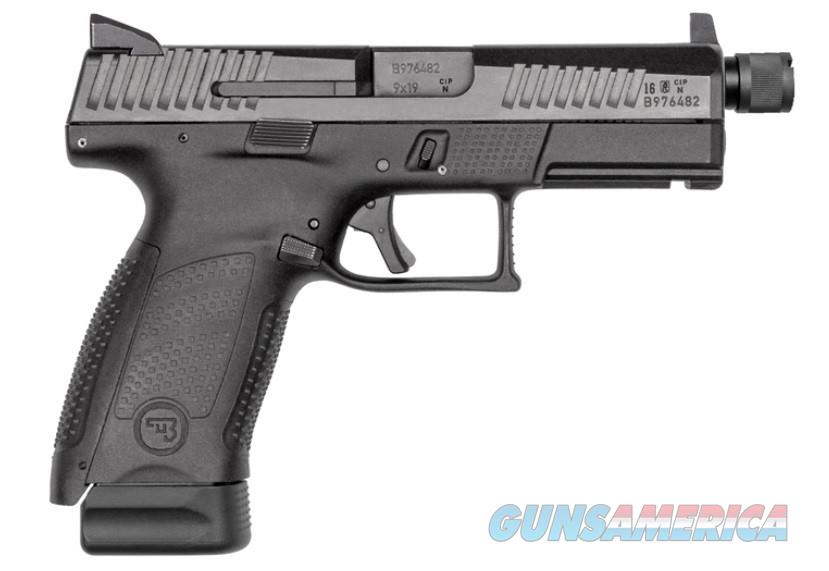 91523 CZ P-10 Compact 17+1 Pistol With Night Sights Suppressor Ready 91523  806703915234  Guns > Pistols > CZ Pistols