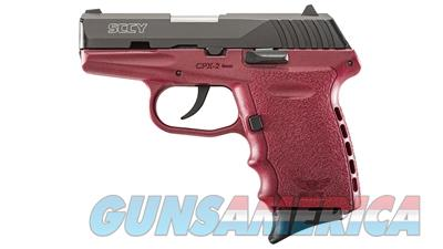 "SCCY Industries CPX-2 CBPK Red Frame 9mm 3.1"" Barrel CPX2CBCR 857679003210  Guns > Pistols > SCCY Pistols > CPX2"