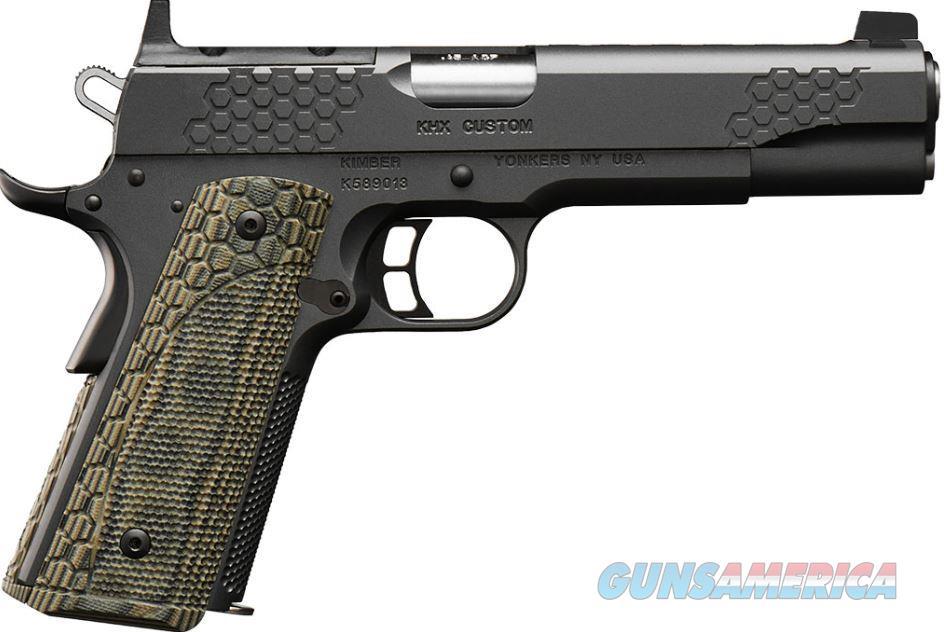 Kimber 3000374 KHX (OR) Custom Pistol - 9MM, 5 in Barrel, Stainless Steel Frame, Steel Slide, 8 Rd  Guns > Pistols > Kimber of America Pistols > 1911
