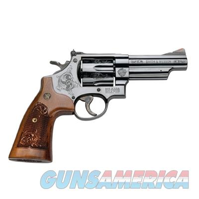 "SMITH AND WESSON 29 ENGRAVED 44 MAGNUM 4"" 150783  022188142242  Guns > Pistols > Smith & Wesson Revolvers > Model 629"
