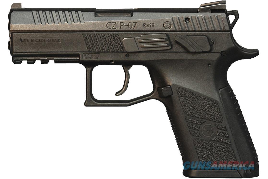 CZ-USA P-07 9mm 15 round Polymer Frame Handgun 91086 806703910864  Guns > Pistols > CZ Pistols