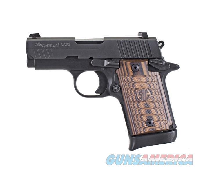 """Sig Sauer P938 9mm 3"""" Select SA Black 7rd Mag Handgun 938-9-SEL-AMBI  Guns > Pistols > Sig - Sauer/Sigarms Pistols > P938"""