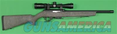 Tactical Solutions X-Ring .22 LR Rifle with Ghillie Green Hogue Stock and Vortex Crossfire II 2-7x32 Scope XRING22SCOPEBLACKGN  Guns > Rifles > Tactical Rifles Misc.