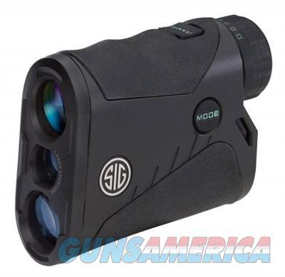 Sig Sauer KILO 1250 6x20mm Rangefinder Monocular SOK12601 798681551958  Non-Guns > Scopes/Mounts/Rings & Optics > Non-Scope Optics > Rangefinders