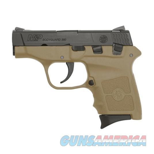 "Smith & Wesson M&P Bodyguard, .380 ACP, 2.75"", FDE Frame, 6rd, NO LASER 10167  Guns > Pistols > Smith & Wesson Pistols - Autos > Polymer Frame"