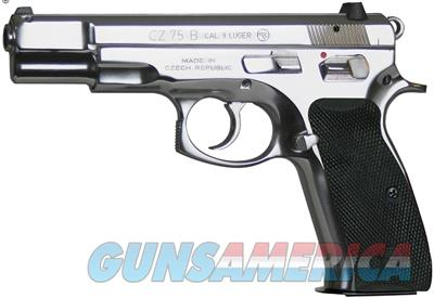 "CZ-USA CZ-91108 CZ 75B Polished Stainless Steel 9mm 4.6"" 16+1 DA/SA Pistol  91108  806703911083  Guns > Pistols > CZ Pistols"