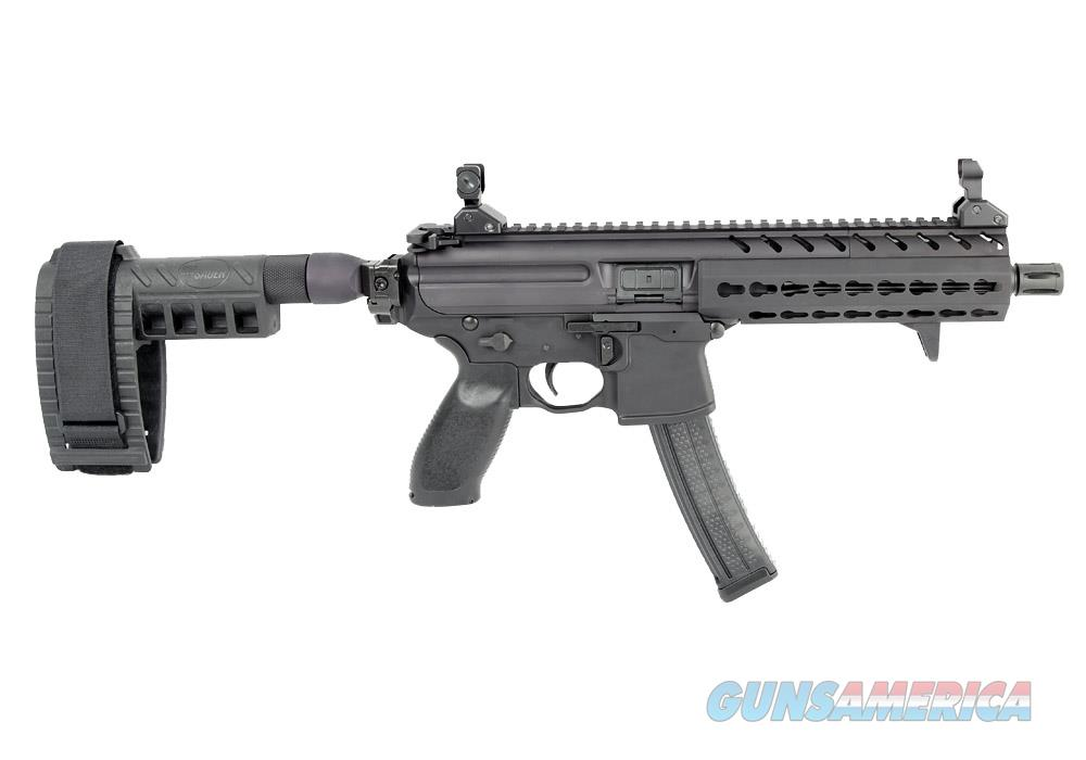 "Sig Sauer MPX Gen 2 9mm Pistol 8"" Barrel with PSB, KeyMod Rail and 30 Round Mag – MPX-P-9-KM-PSB  Guns > Pistols > Sig - Sauer/Sigarms Pistols > Other"