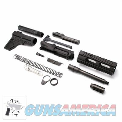"TGI AR-15 9MM Pistol Kit with 7"" Barrel and 7"" Quad Rail with LPK- RK9-7.5-FAR07-SW  Guns > Pistols > TU Misc Pistols"