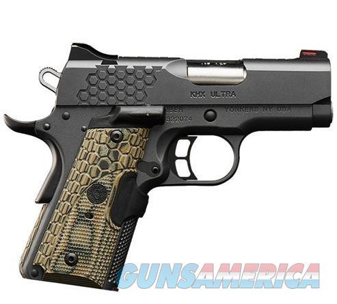 Kimber 3000371 KHX Ultra Pistol - 45 ACP, 3 in Barrel, Aluminum Frame, Steel Slide, 7 Rd  3000371  669278303710  Guns > Pistols > Kimber of America Pistols > 1911